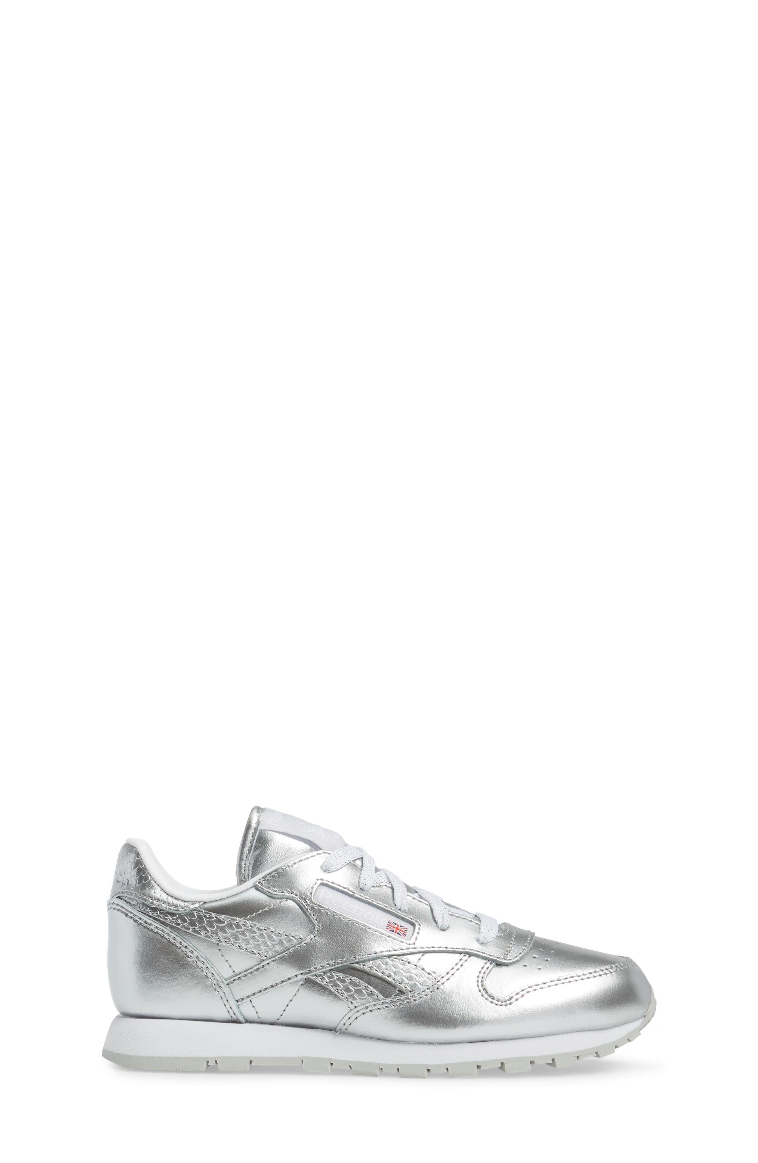 Alternate Image 3  - Reebok Classic Metallic Sneaker (Baby, Walker, Toddler, Little Kid & Big Kid)
