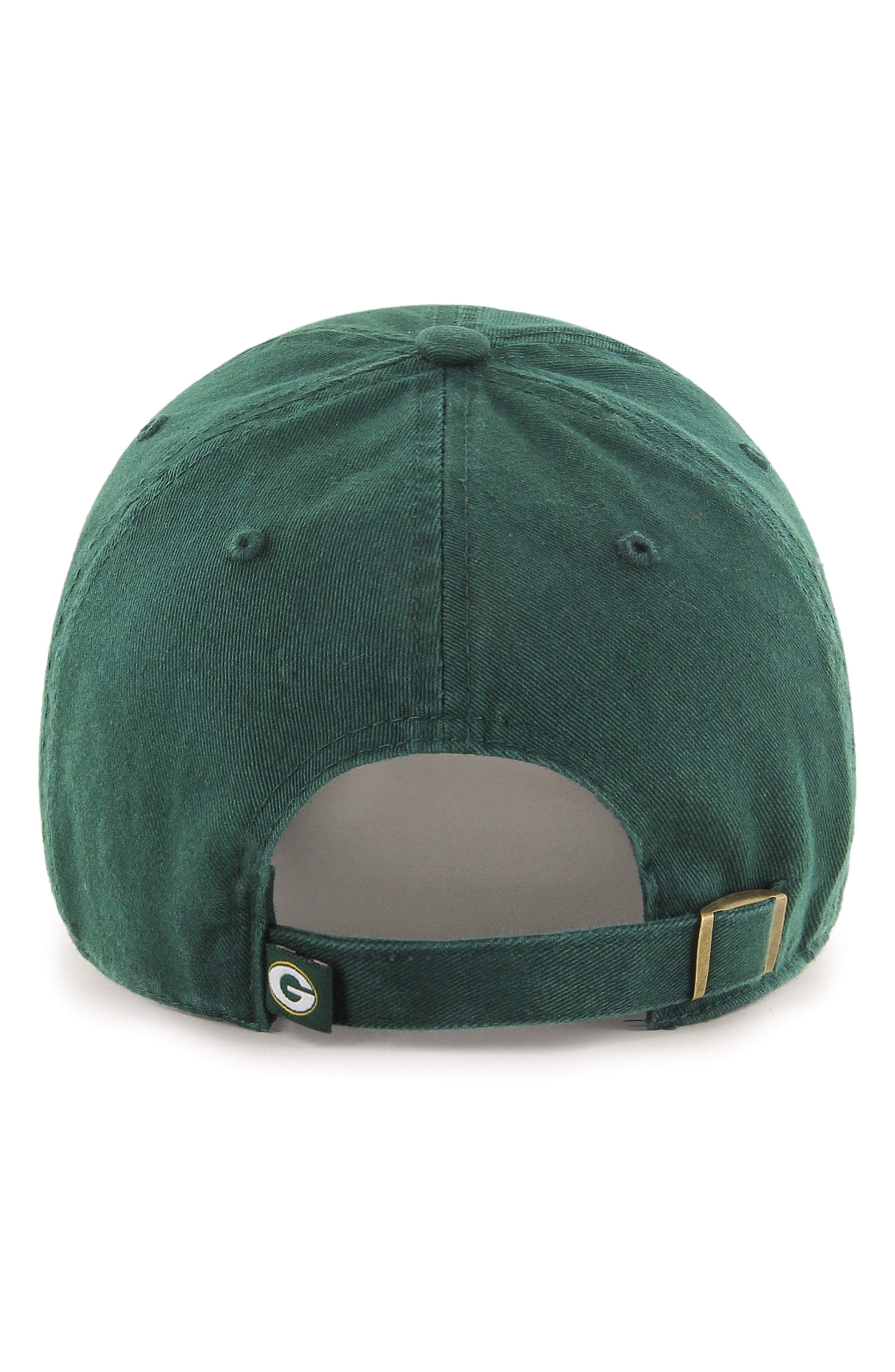 Clean Up NFL Baseball Cap,                             Alternate thumbnail 2, color,                             Green Bay Packers
