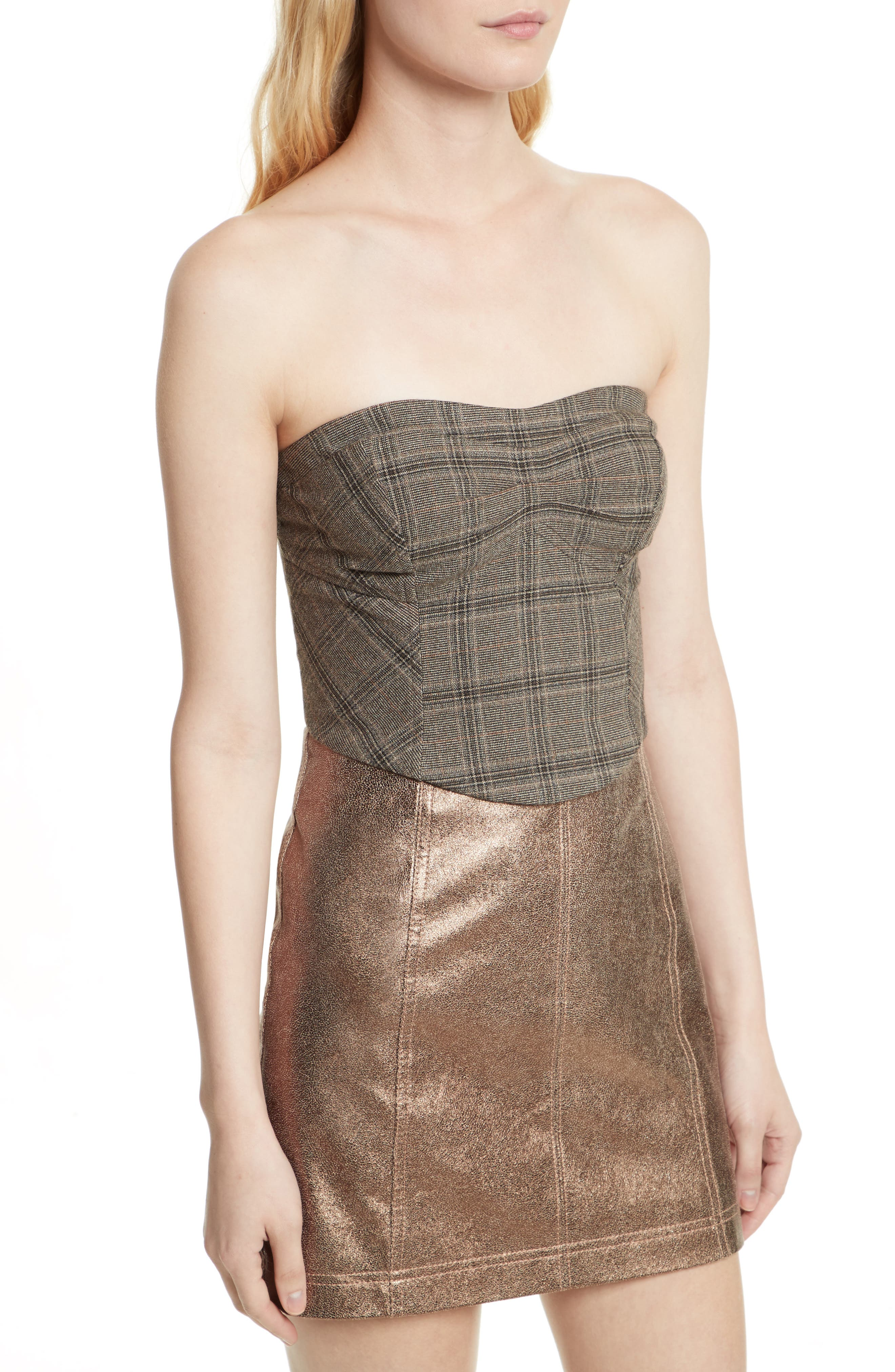 Alternate Image 4  - Free People Out West Corset Top