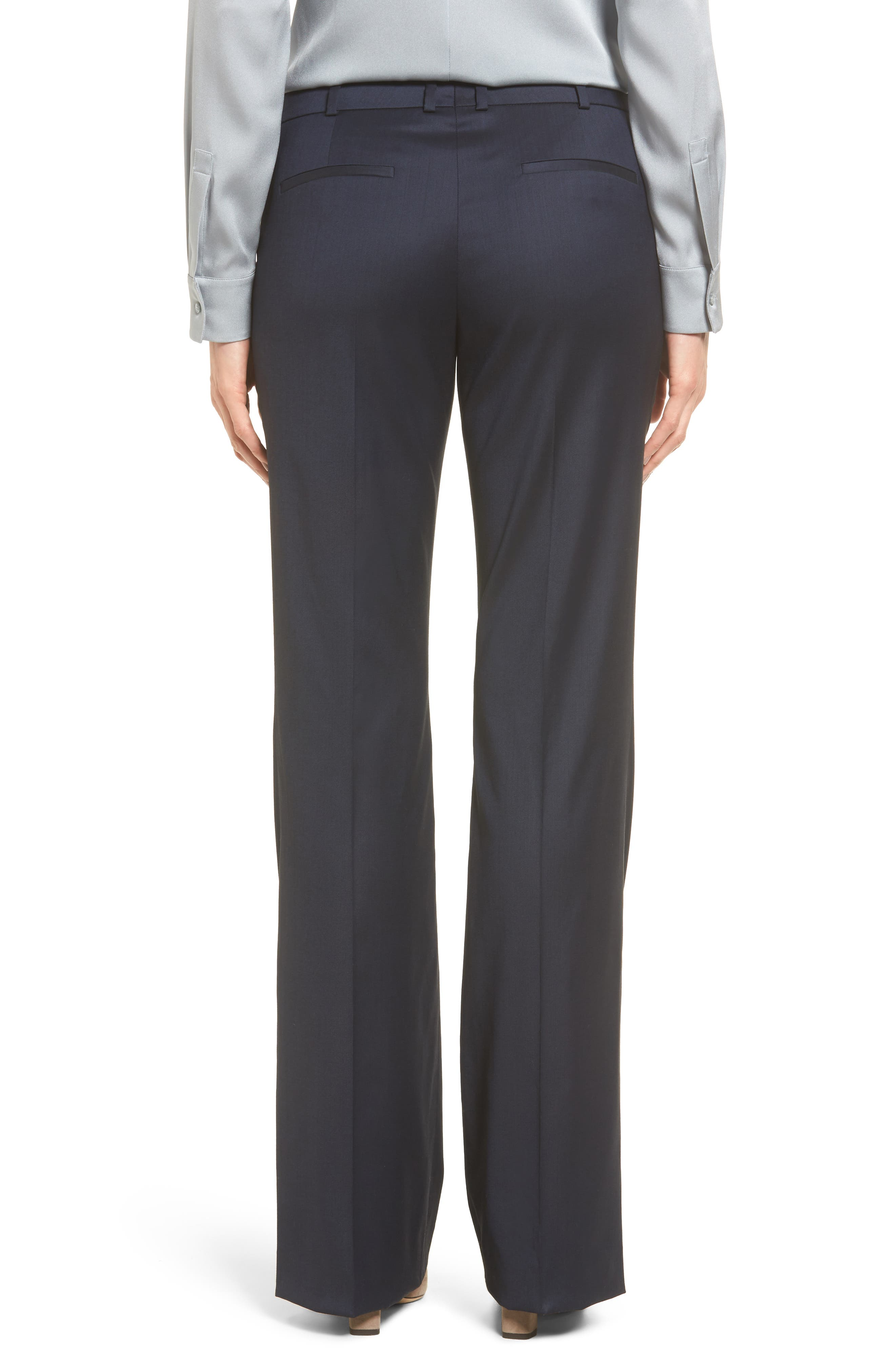 Alternate Image 3  - BOSS Stretch Wool Blend Suit Trousers
