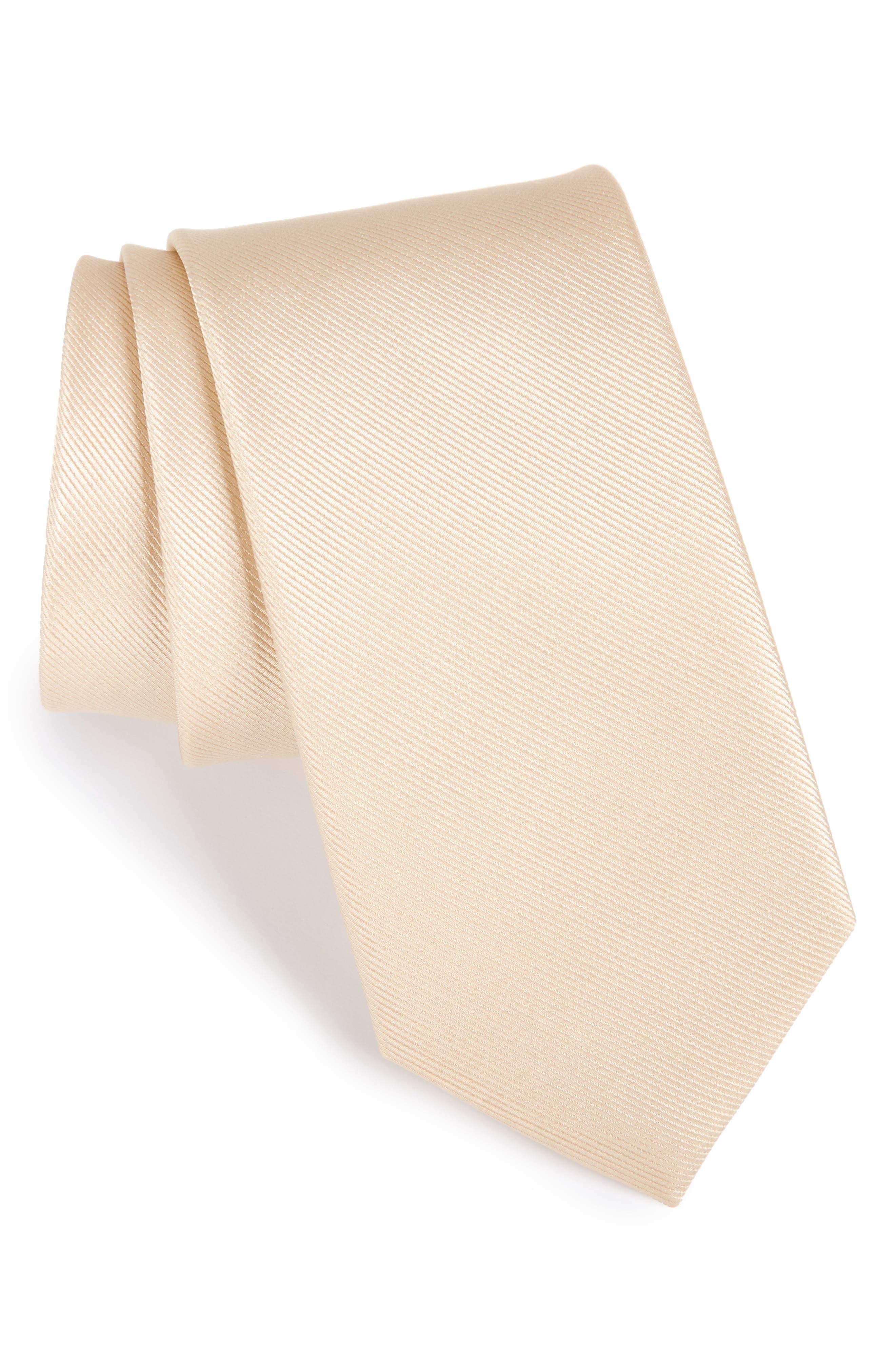 Alternate Image 1 Selected - The Tie Bar Grosgrain Silk Tie