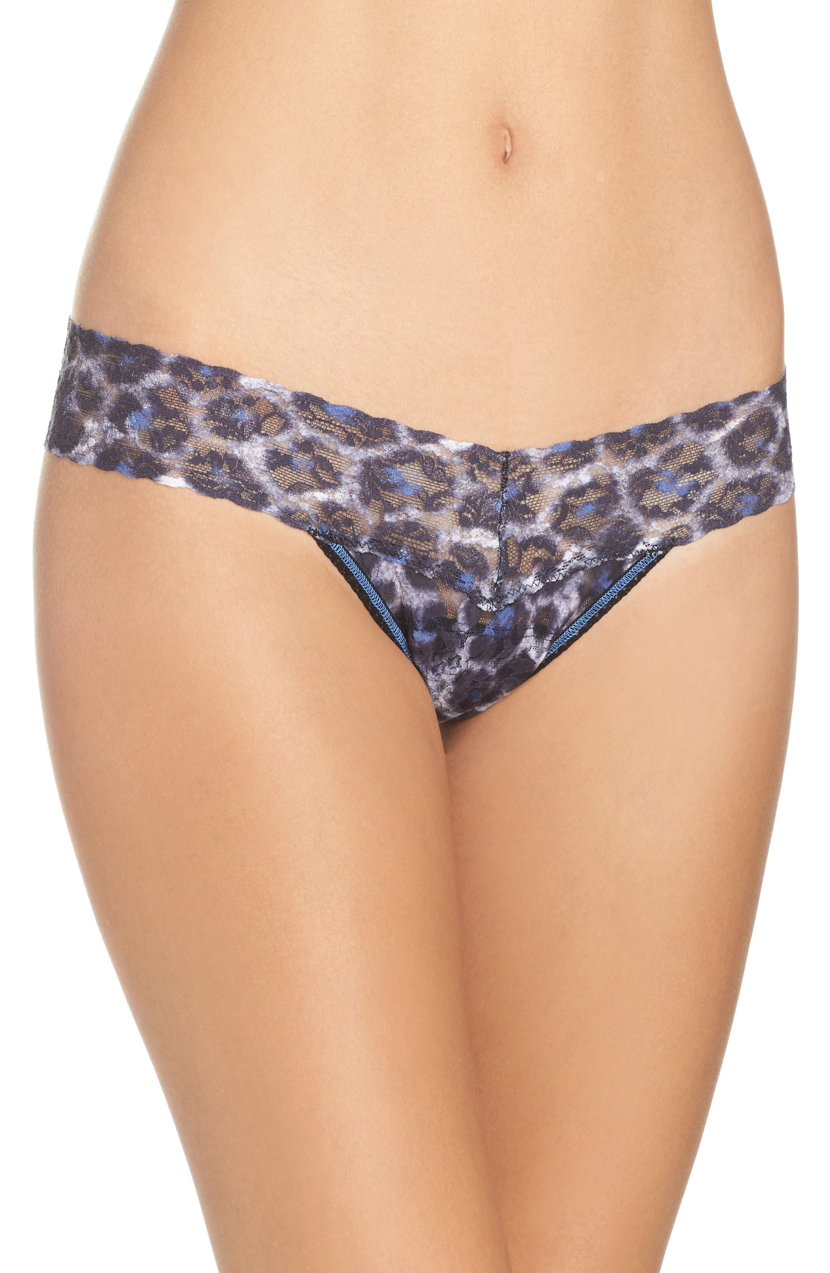Hanky Panky Mysterious Feline Low Rise Thong