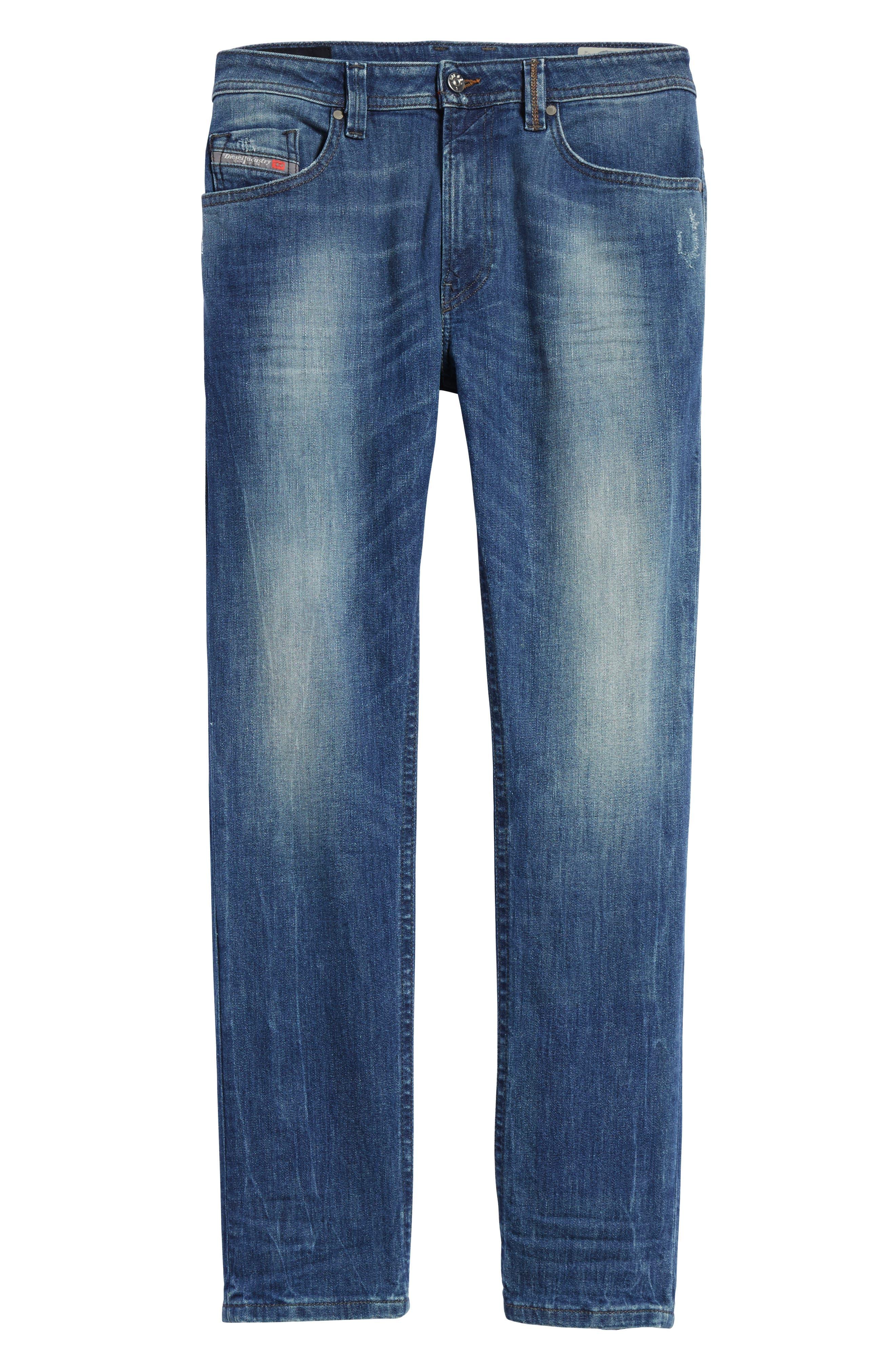 Alternate Image 6  - DIESEL® Thommer Slim Fit Jeans (C84IE)