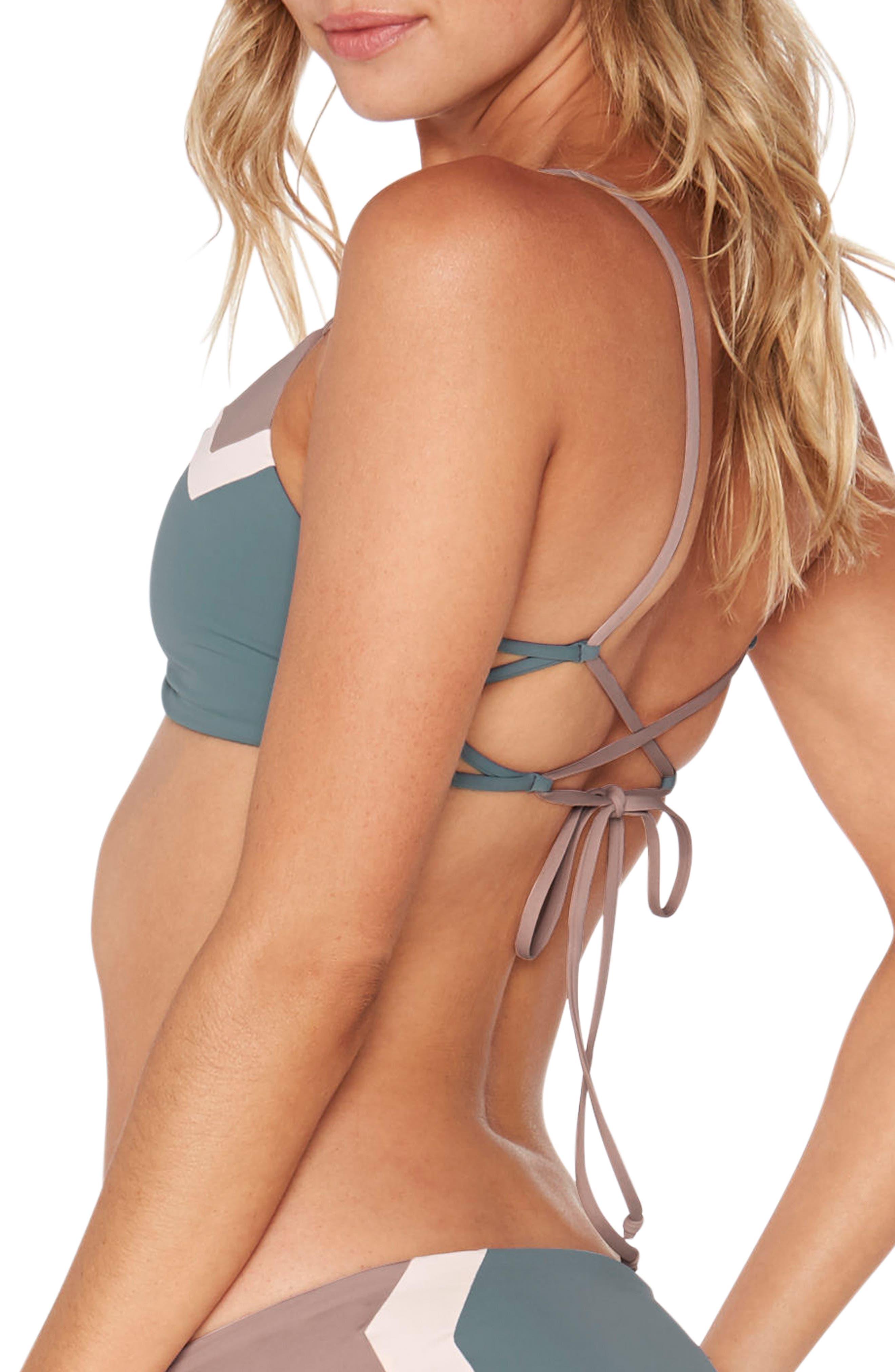 Alternate Image 4  - L Space 'Haley' Reversible Bikini Top