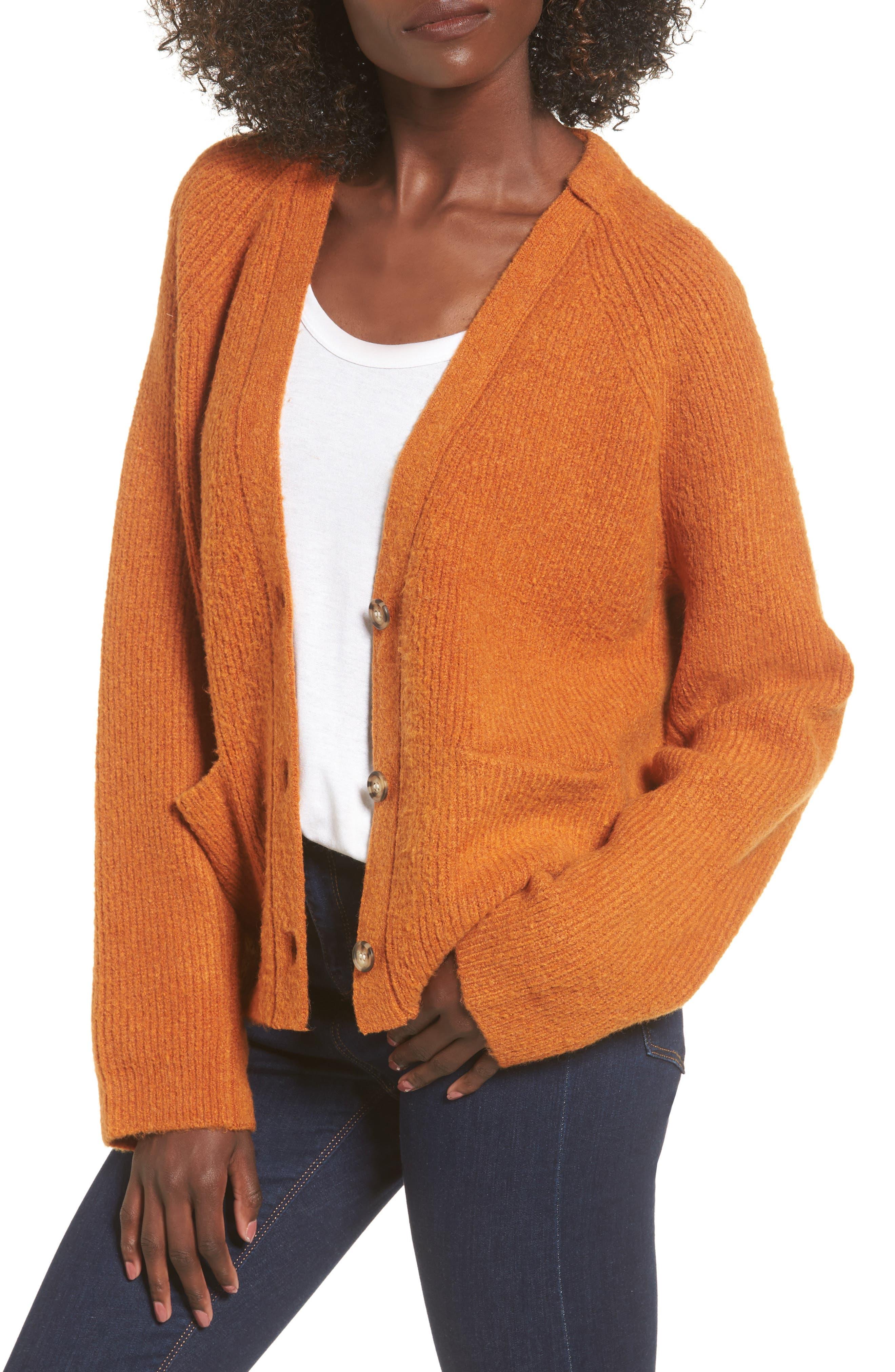 Main Image - Leith Cardigan Sweater