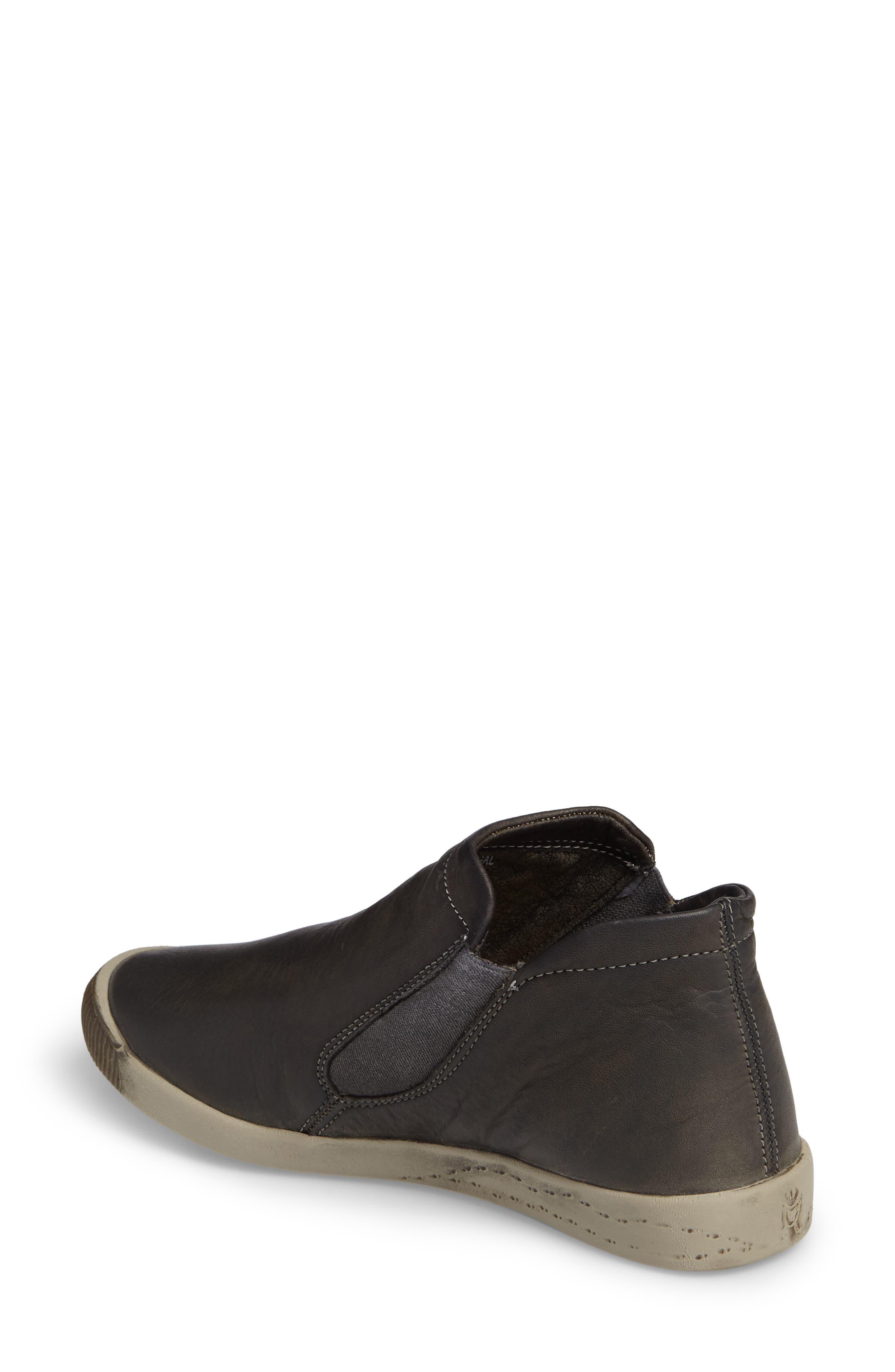 Inge Slip-On Sneaker,                             Alternate thumbnail 2, color,                             Military Leather
