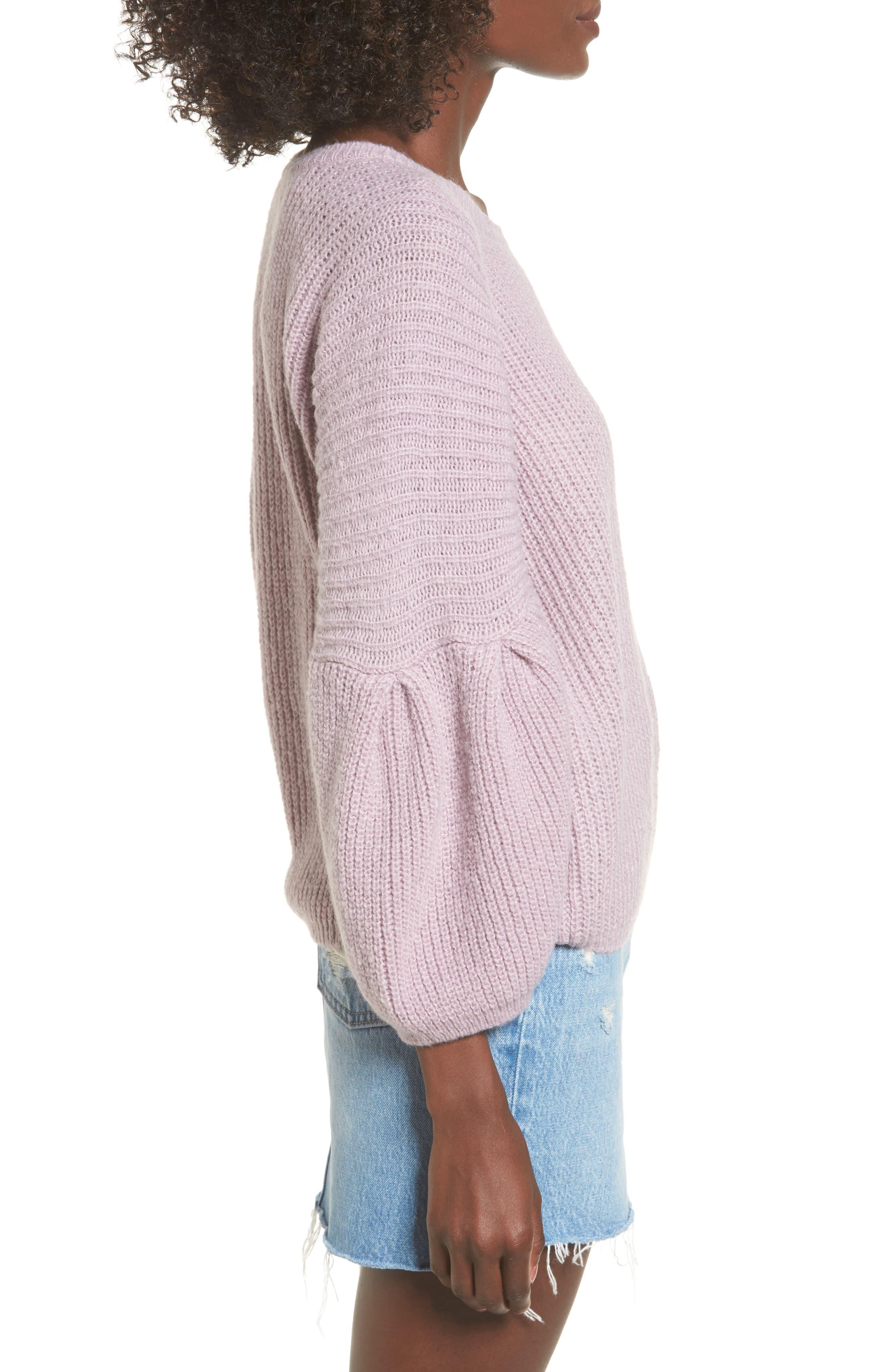 Alternate Image 3  - Leith Bubble Sleeve Sweater