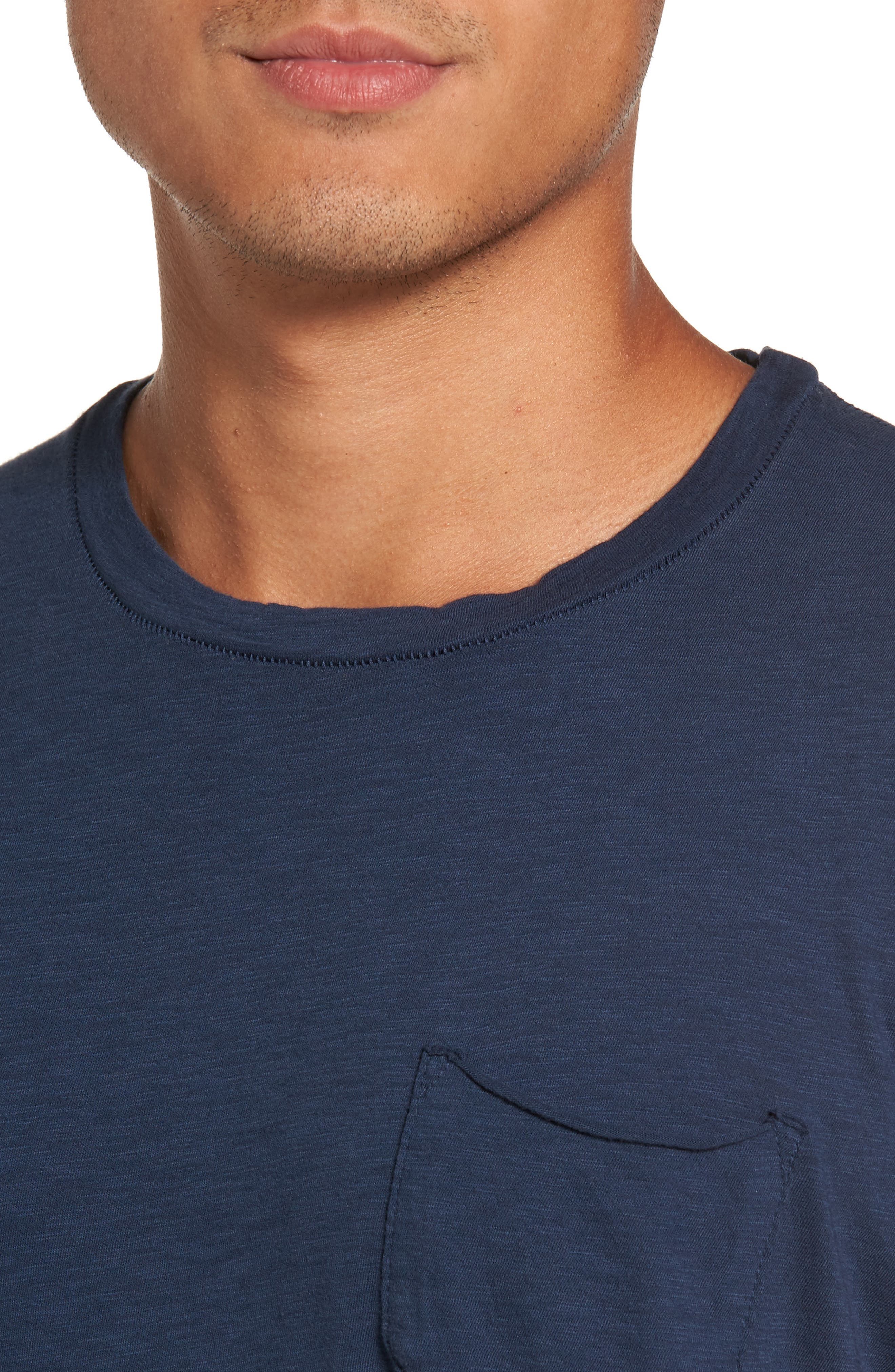 Chase Classic Crewneck T-Shirt,                             Alternate thumbnail 4, color,                             Navy