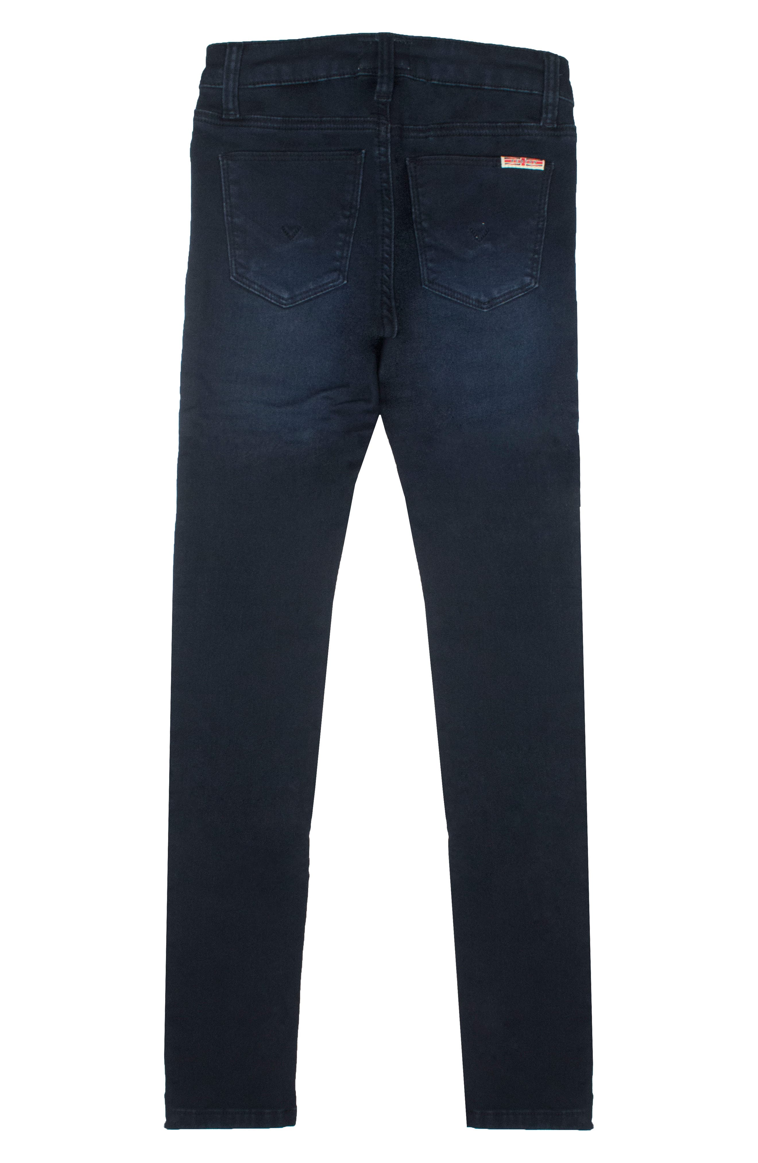 Alternate Image 2  - Hudson Kids Collin Flap Pocket Skinny Jeans (Toddler Girls & Little Girls)