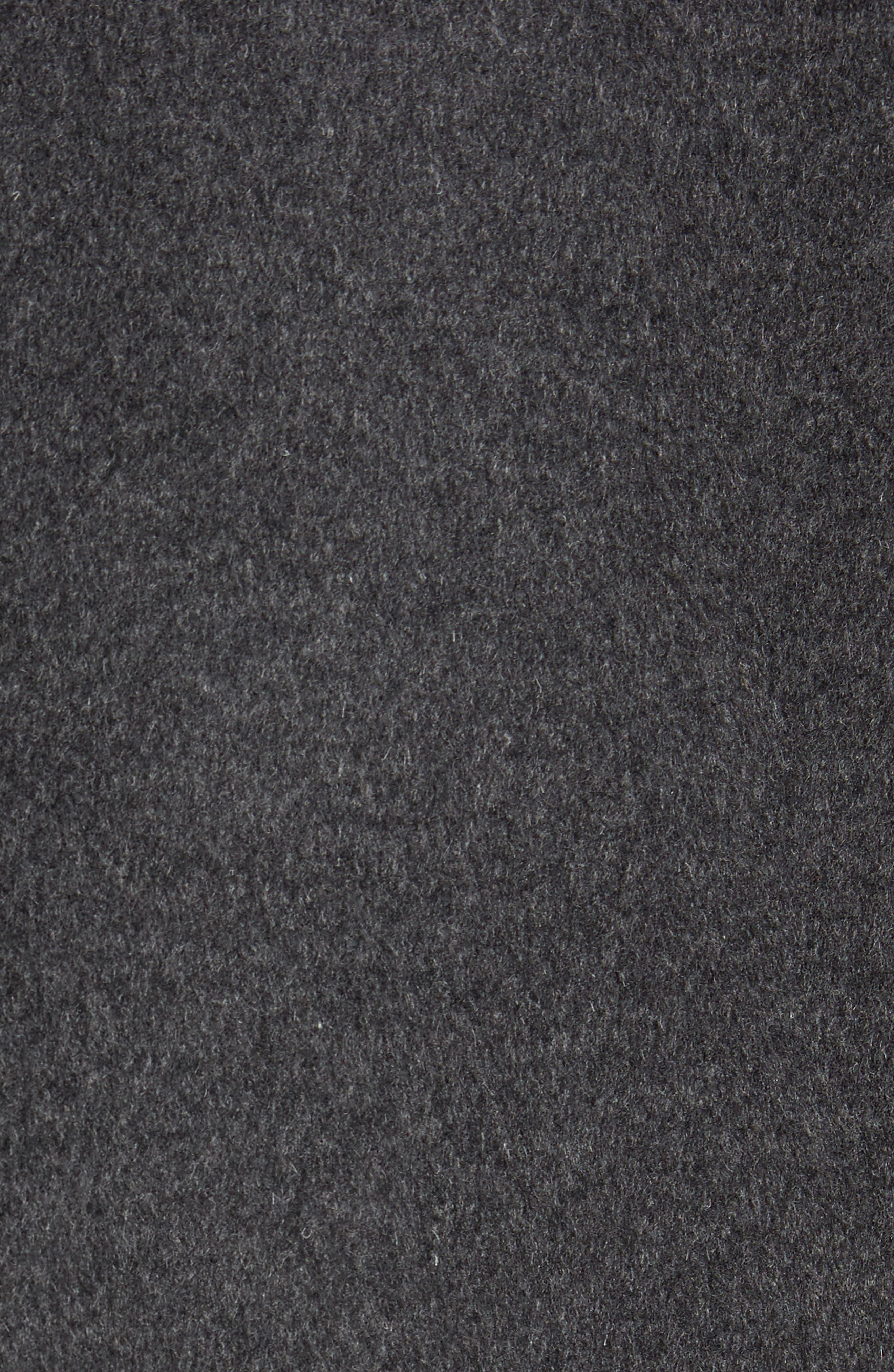 Alternate Image 5  - Nordstrom Men's Shop Mason Wool & Cashmere Overcoat