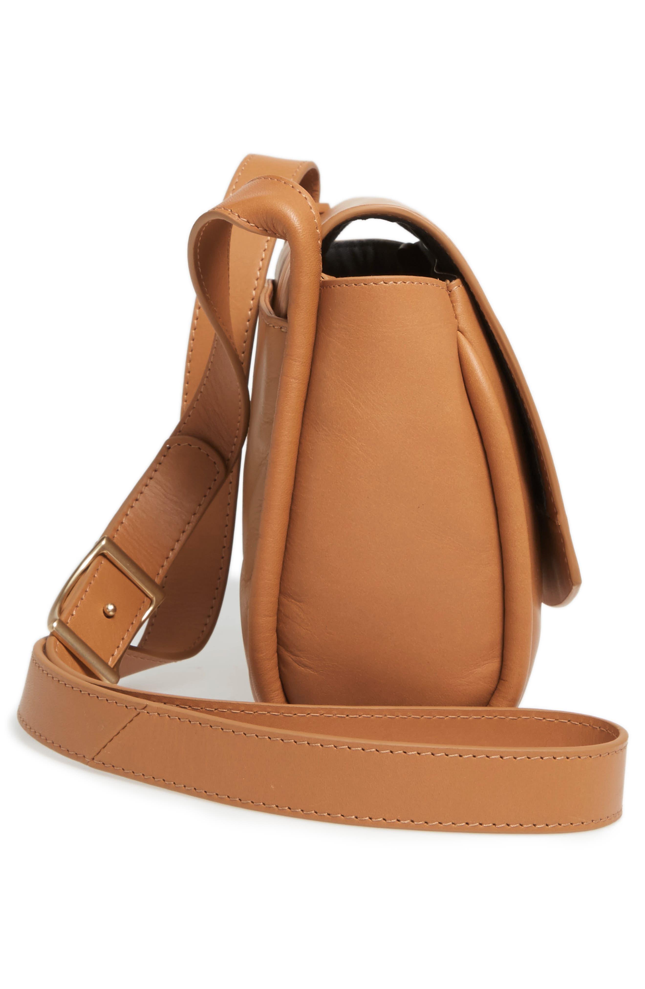 Alternate Image 4  - Skagen Sylvi Leather Crossbody Bag