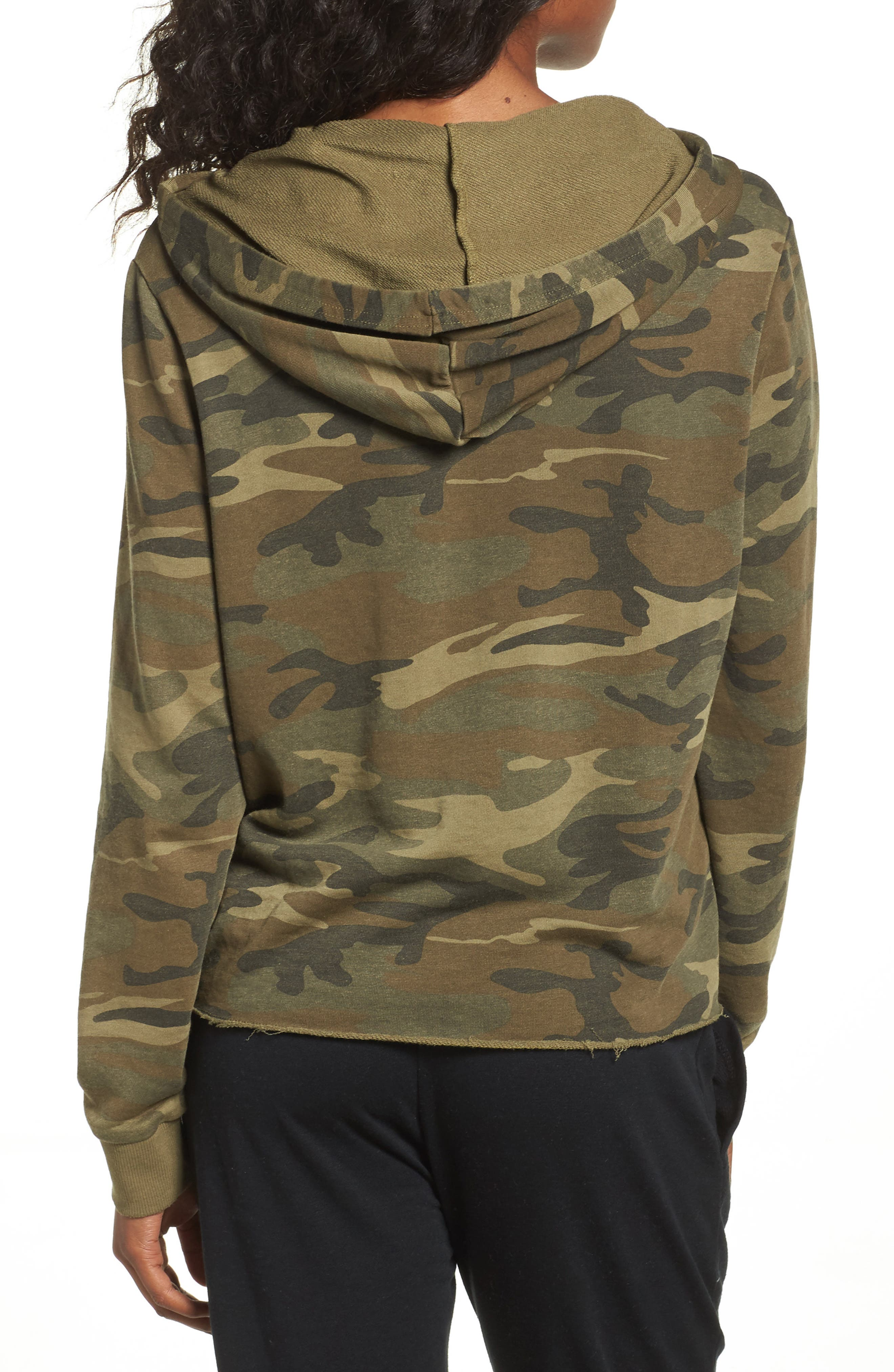 Day Off Hoodie,                             Alternate thumbnail 2, color,                             Camo