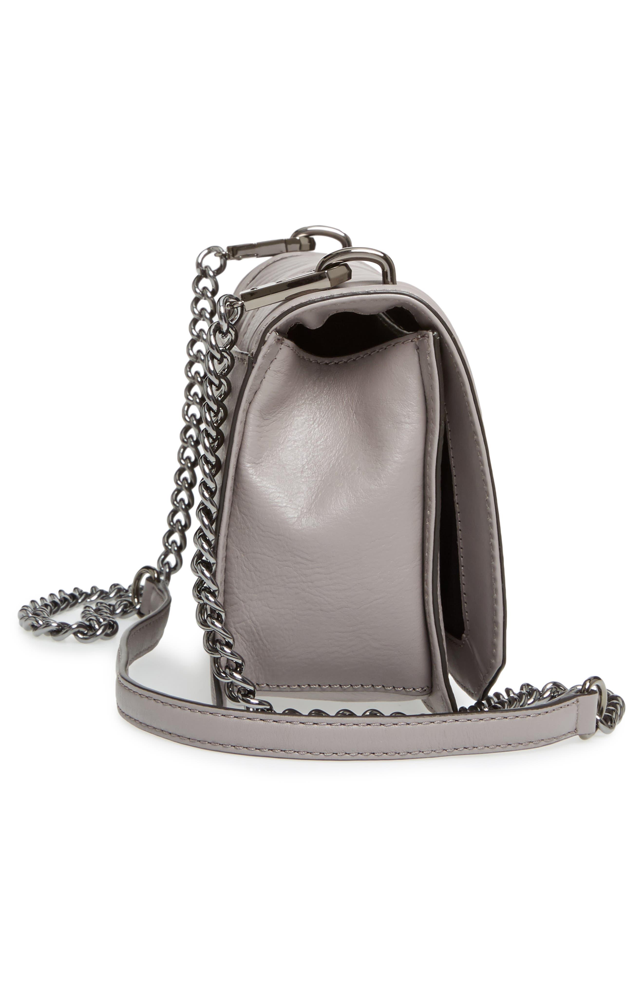 Alternate Image 4  - Rebecca Minkoff 'Chevron Quilted Love' Crossbody Bag