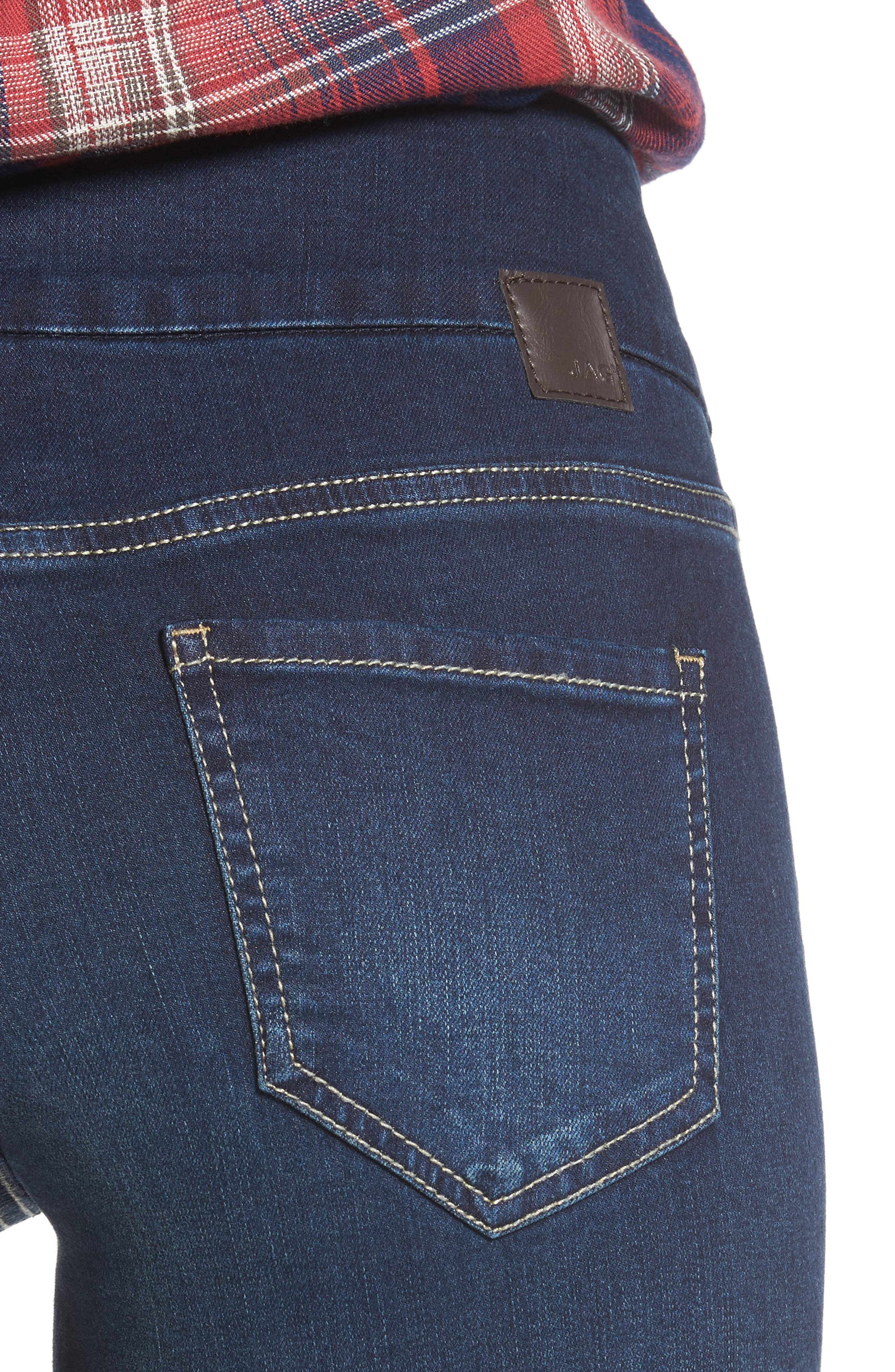 Alternate Image 4  - Jag Jeans Nora Stretch Skinny Jeans