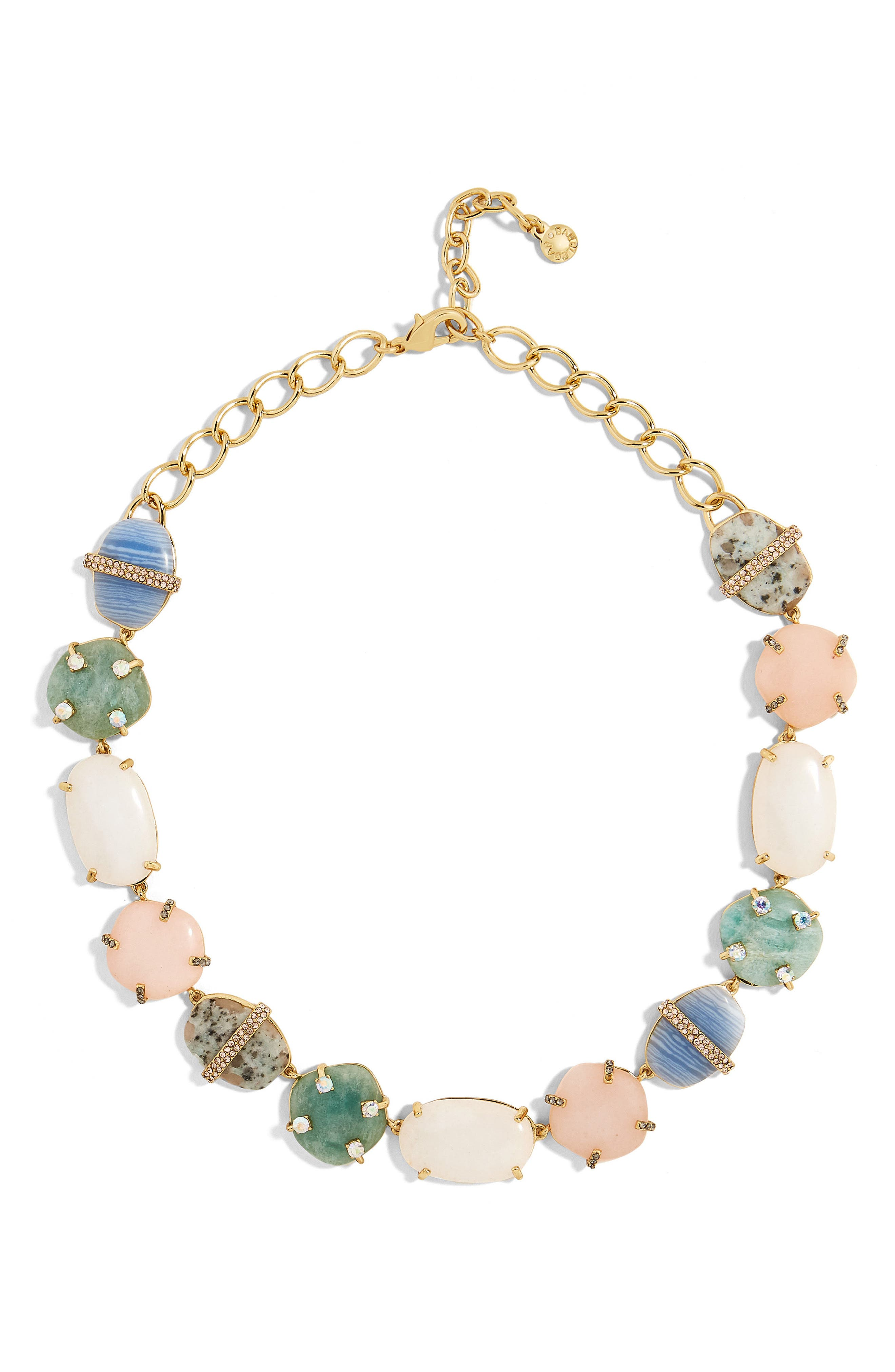 Avianna Collar Necklace,                             Main thumbnail 1, color,                             Multi/ Gold