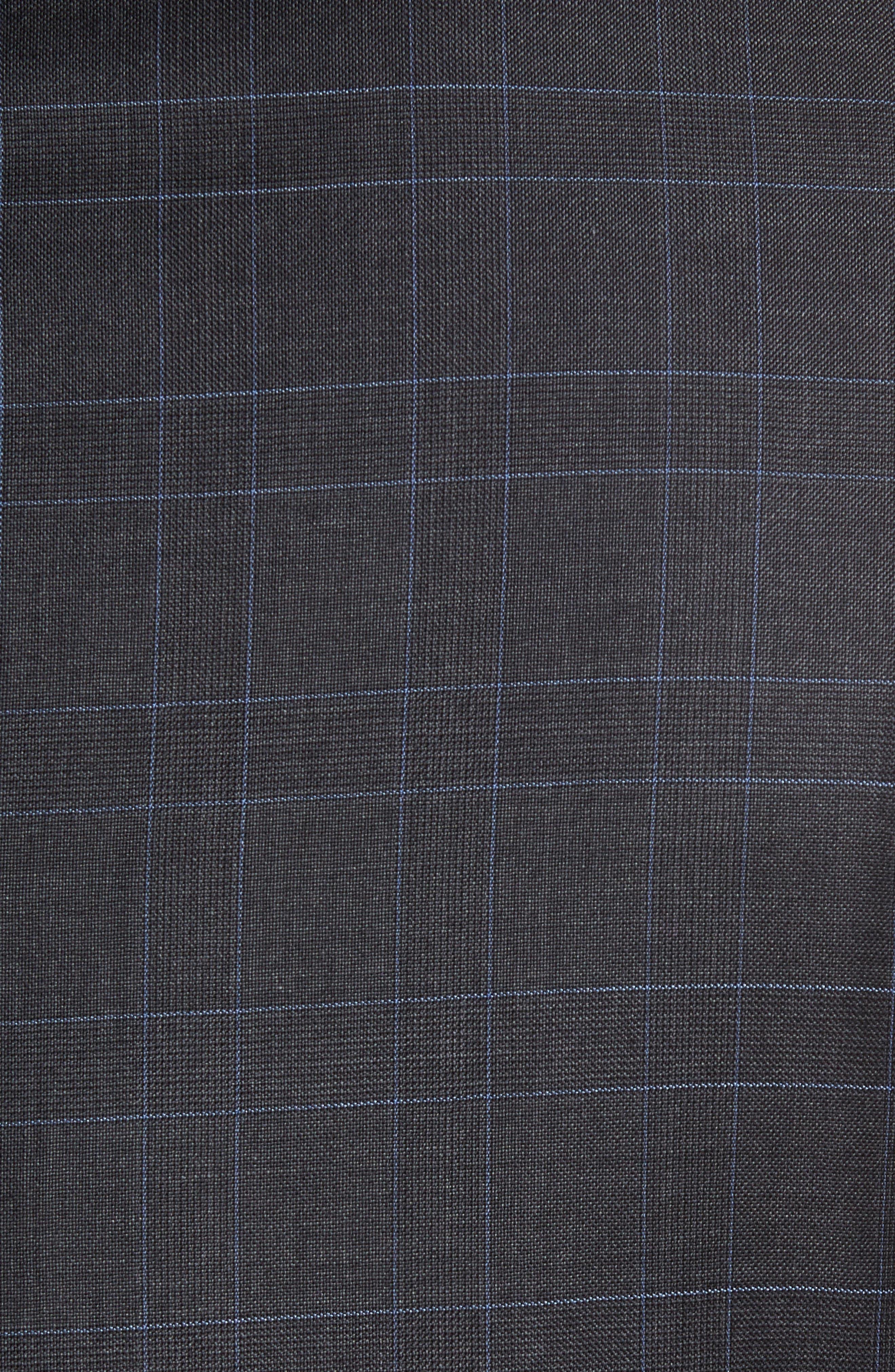 Alternate Image 7  - Nordstrom Men's Shop Classic Fit Plaid Wool Suit