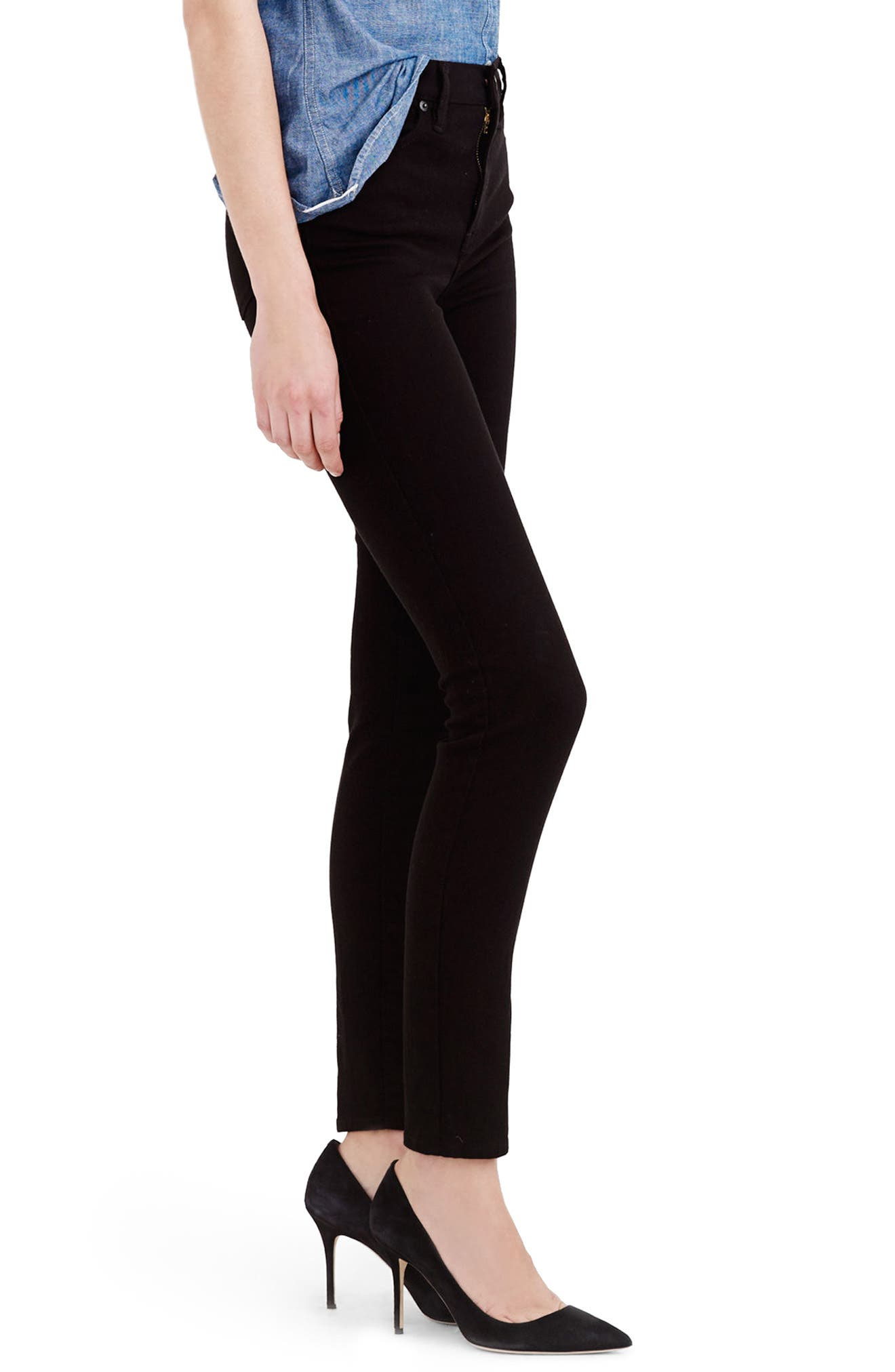 Alternate Image 3  - J.Crew Lookout High Rise Jeans (Regular & Petite)