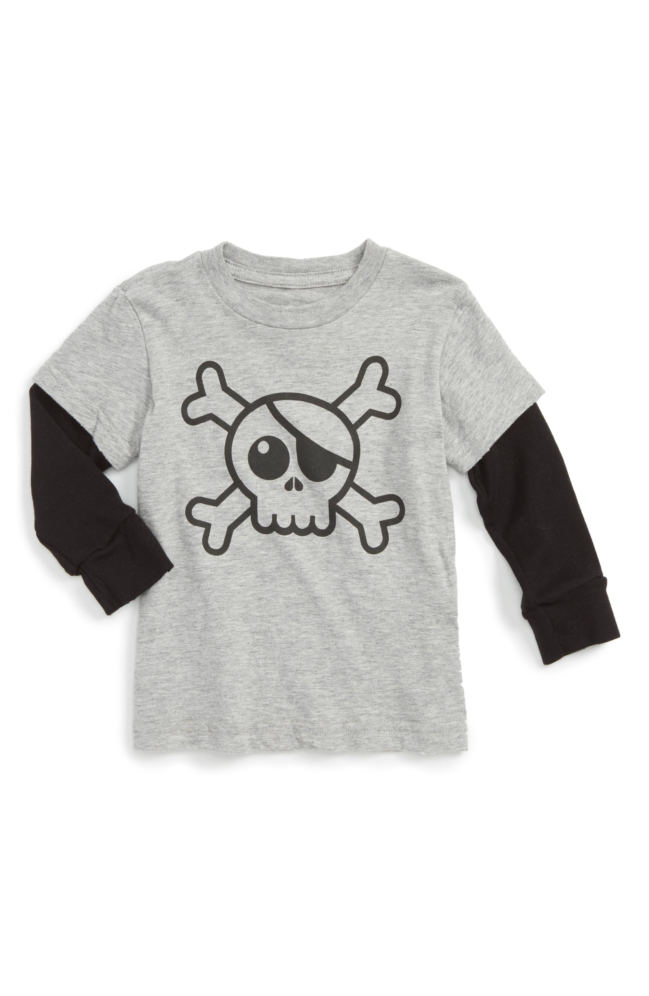 Main Image - NUNUNU Skull Graphic T-Shirt (Baby)