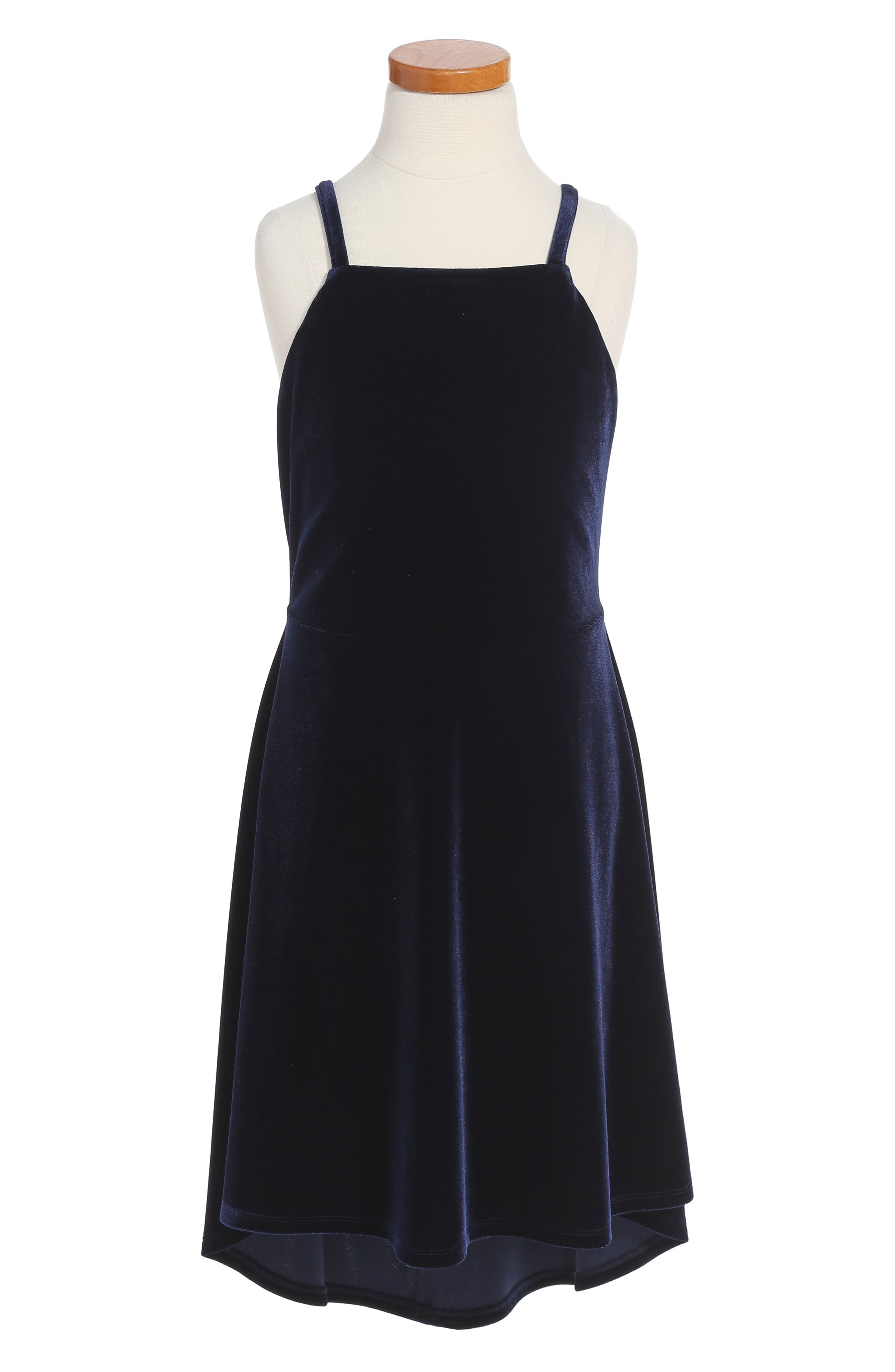 BARDOT Junior Velvet Skater Dress