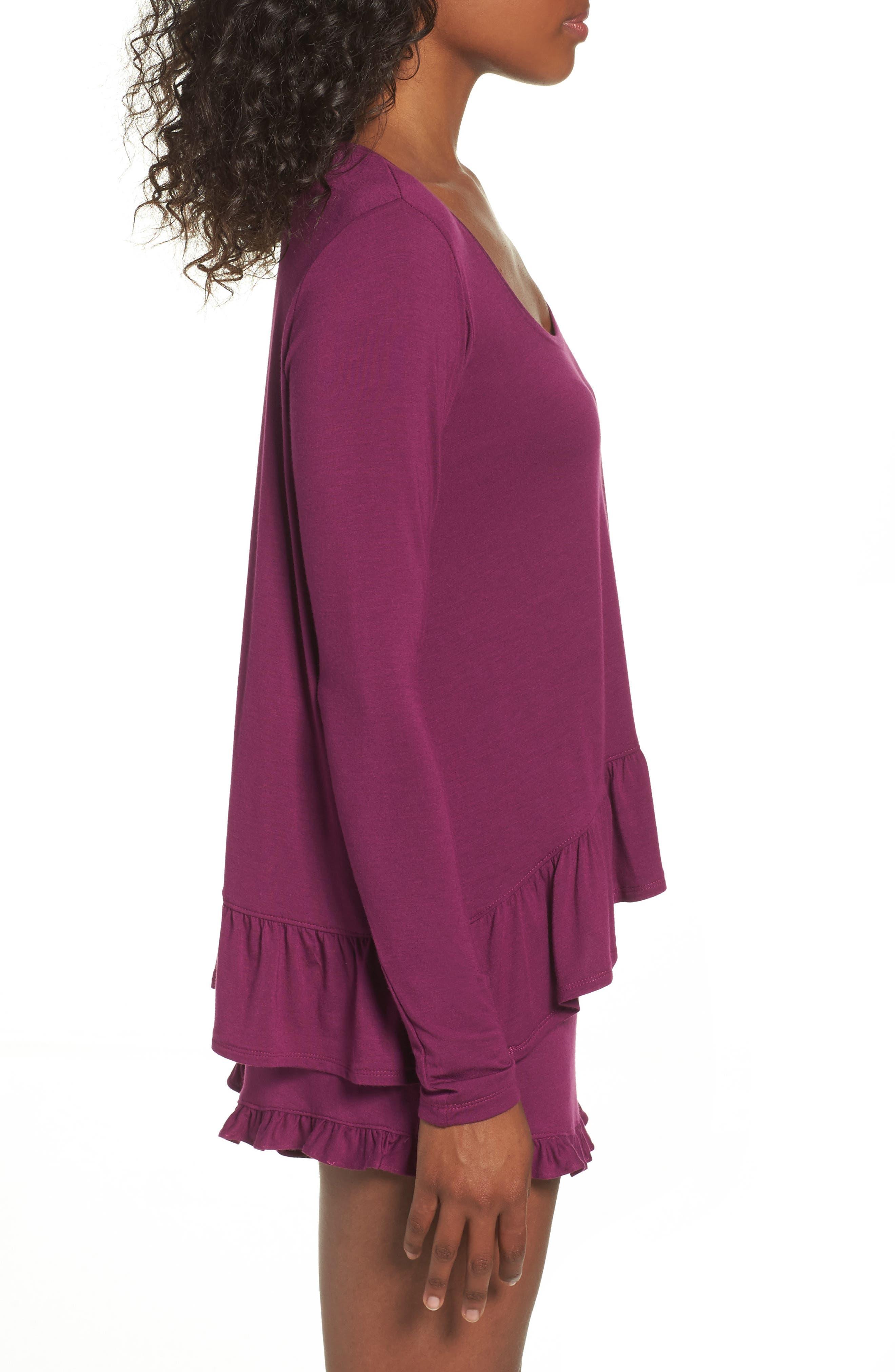 Alternate Image 3  - Josie Jersey Pajamas