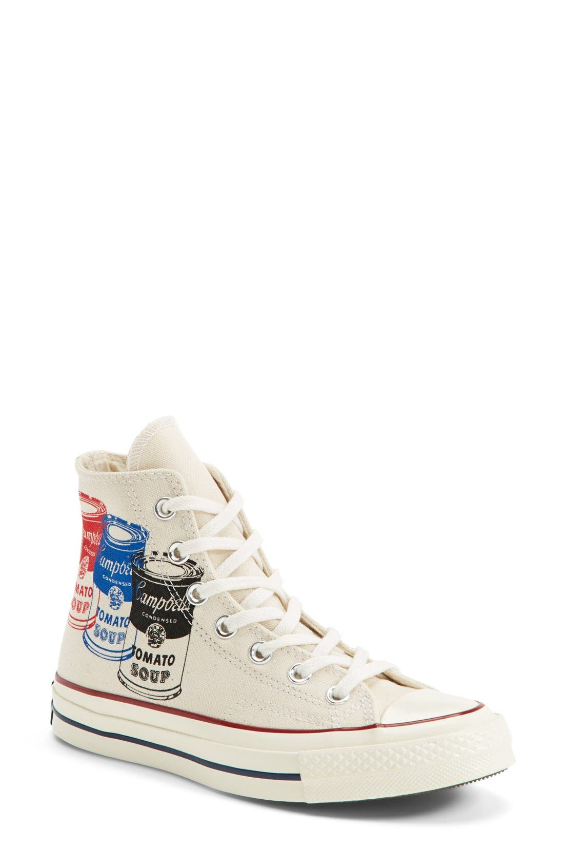 Main Image - Converse Chuck Taylor® All Star® '70 Andy Warhol Collection High Top Sneaker (Women)
