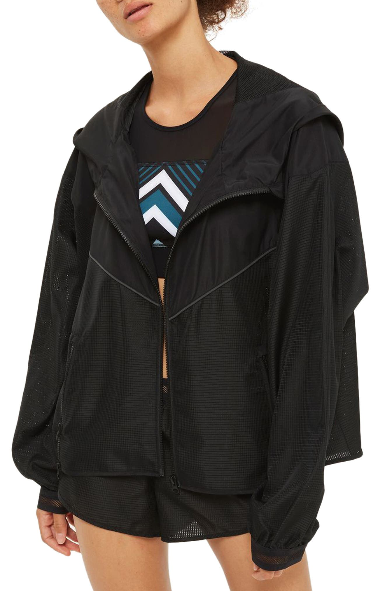 Alternate Image 1 Selected - IVY PARK® Logo Hood Jacket