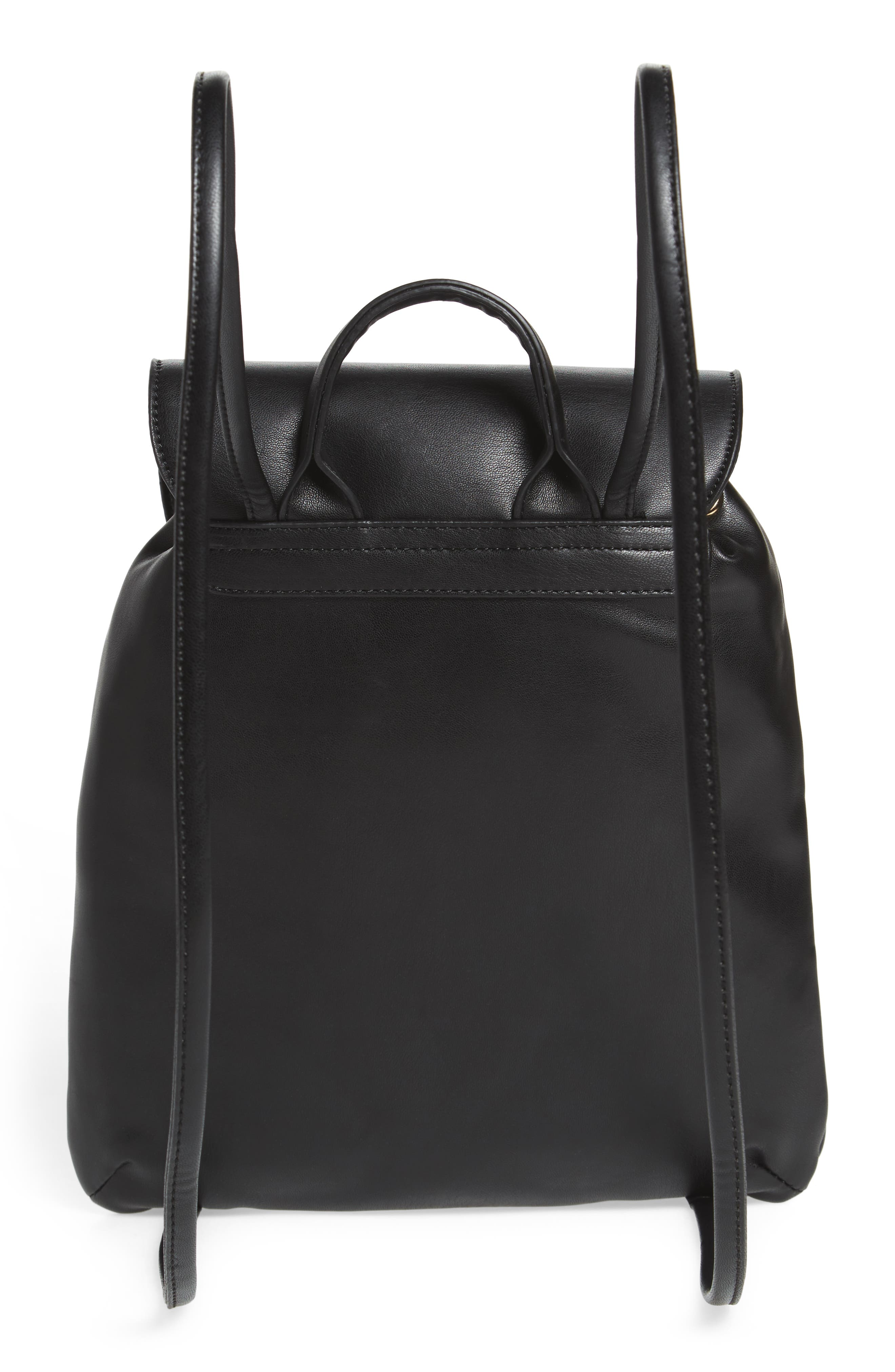 Alternate Image 2  - BP. Drawstring Faux Leather Backpack