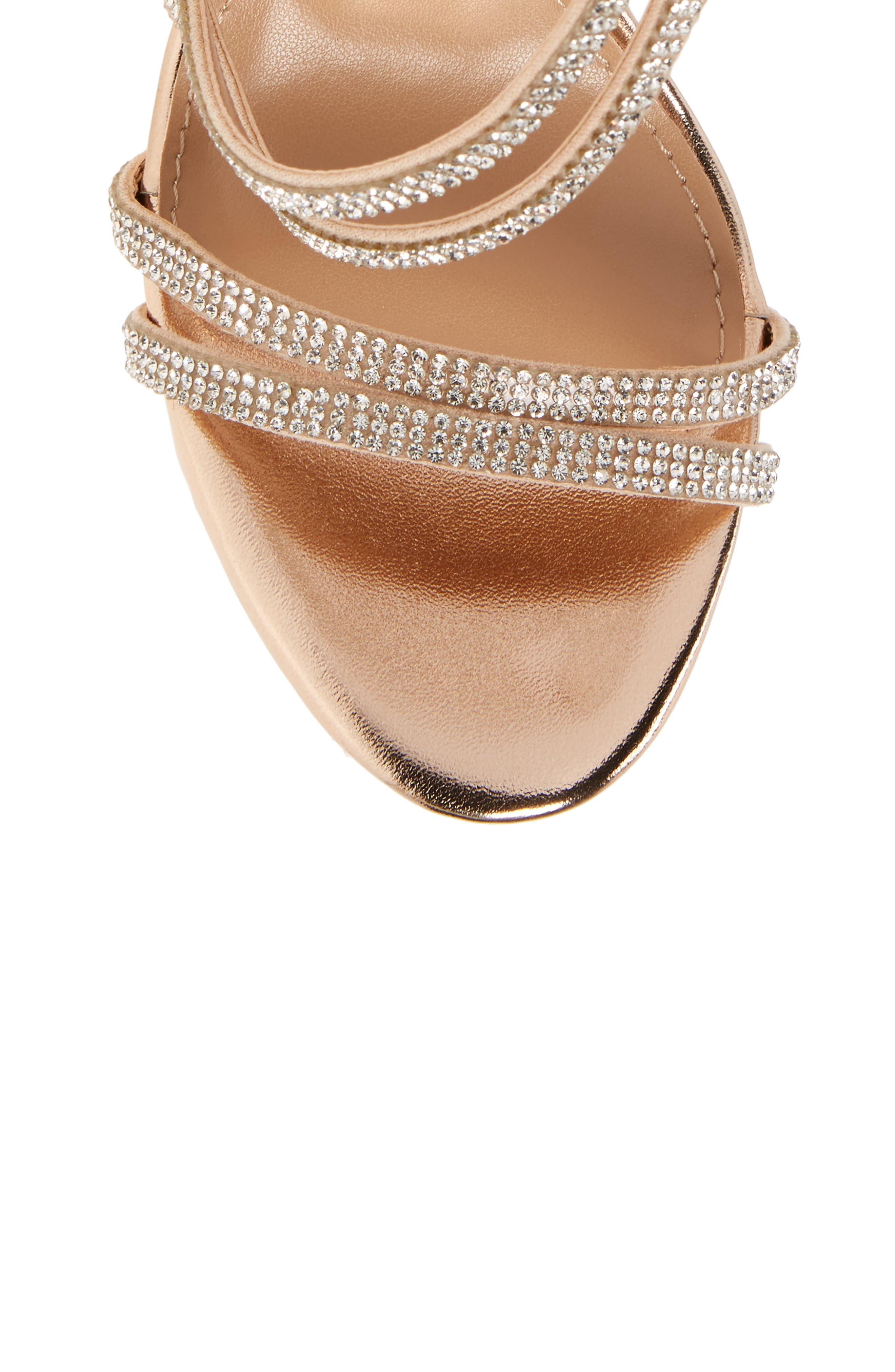 Alternate Image 5  - Steve Madden Sweetest Embellished Sandal (Women)