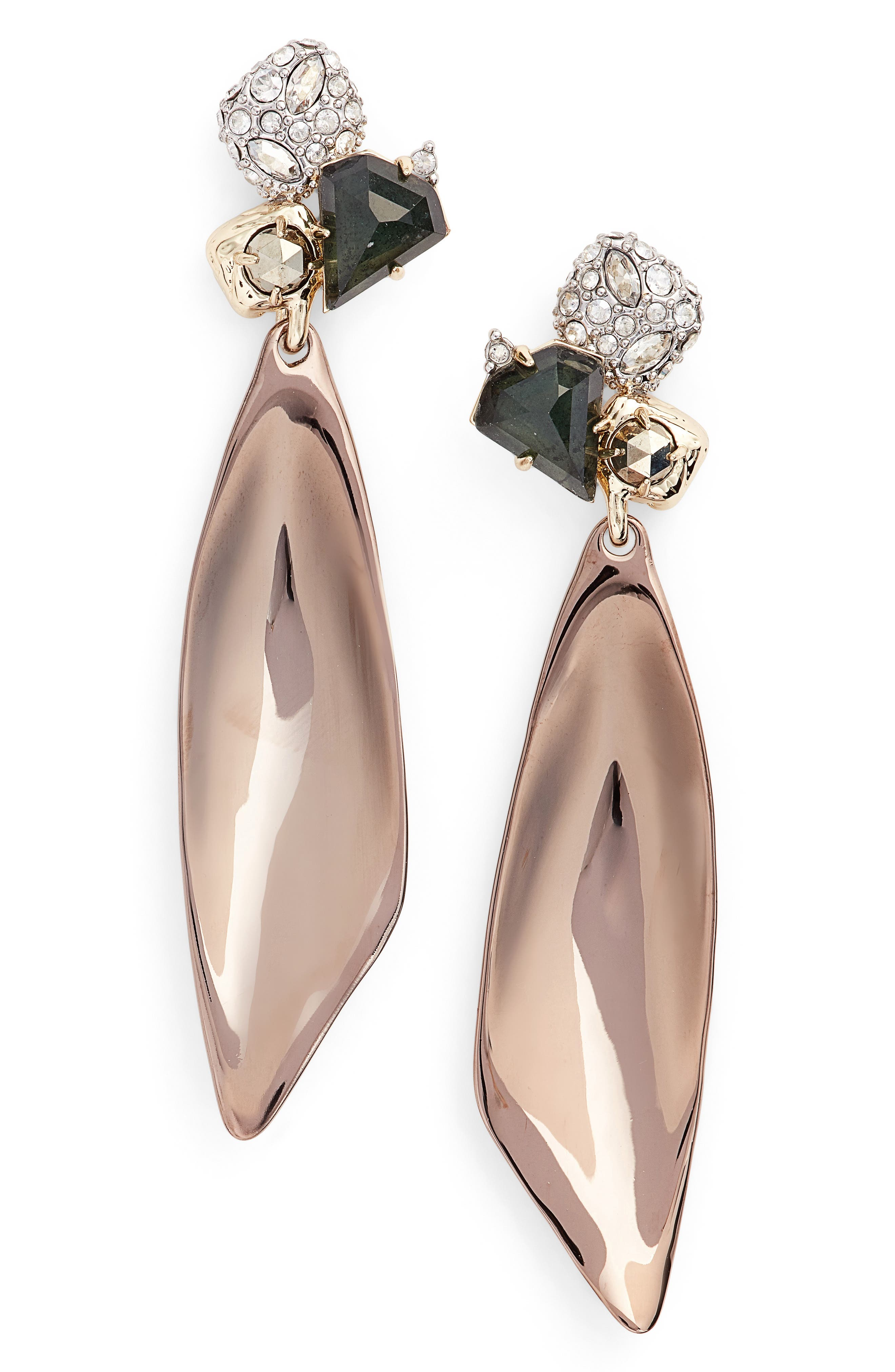 ALEXIS BITTAR Elements Green Amethyst Drop Earrings