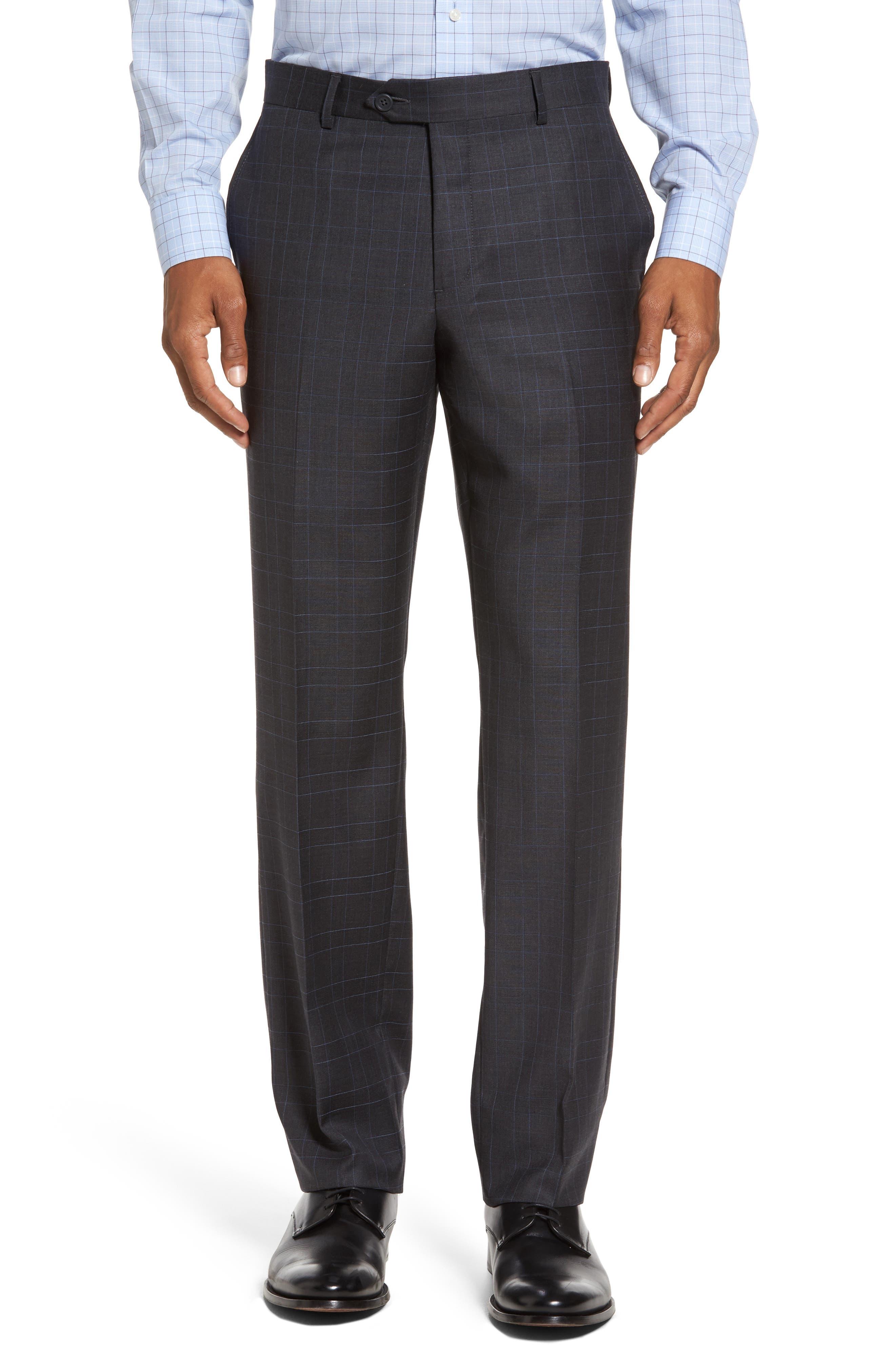 Alternate Image 6  - Nordstrom Men's Shop Classic Fit Plaid Wool Suit