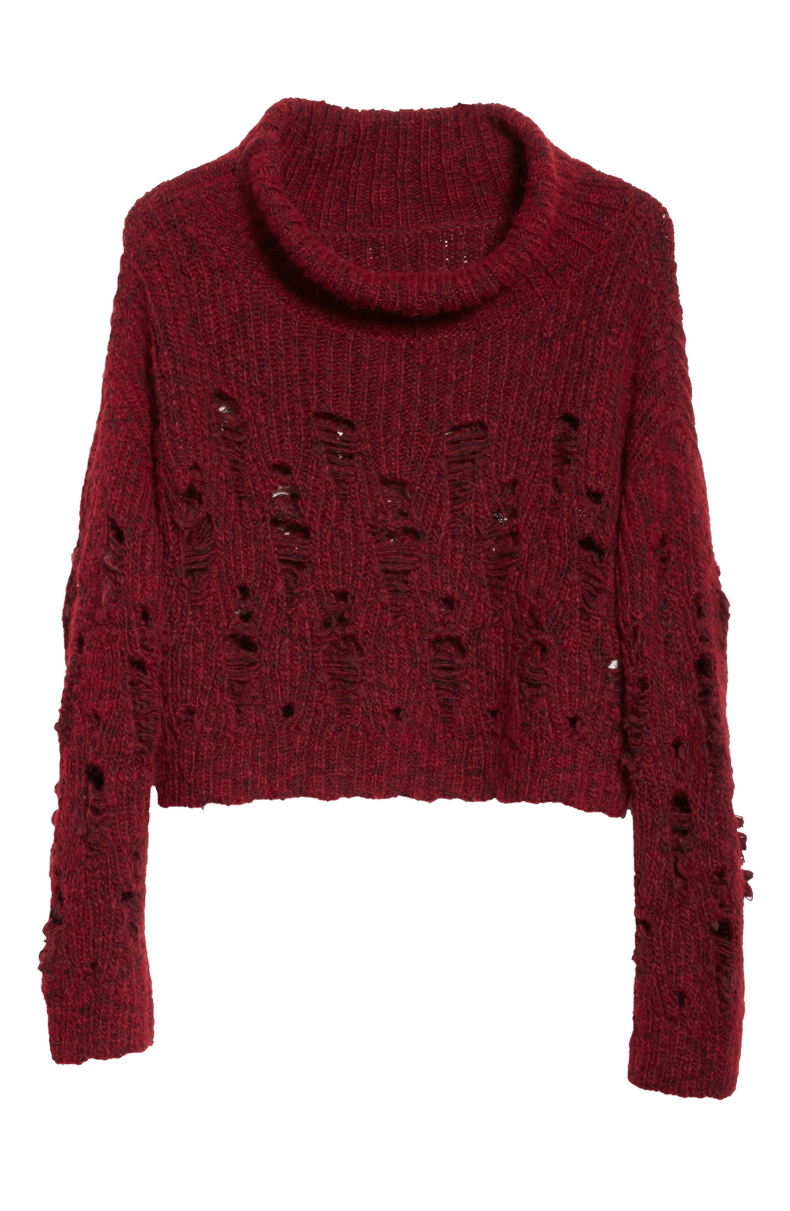 Alternate Image 6  - Rachel Comey Tigris Crop Turtleneck Sweater