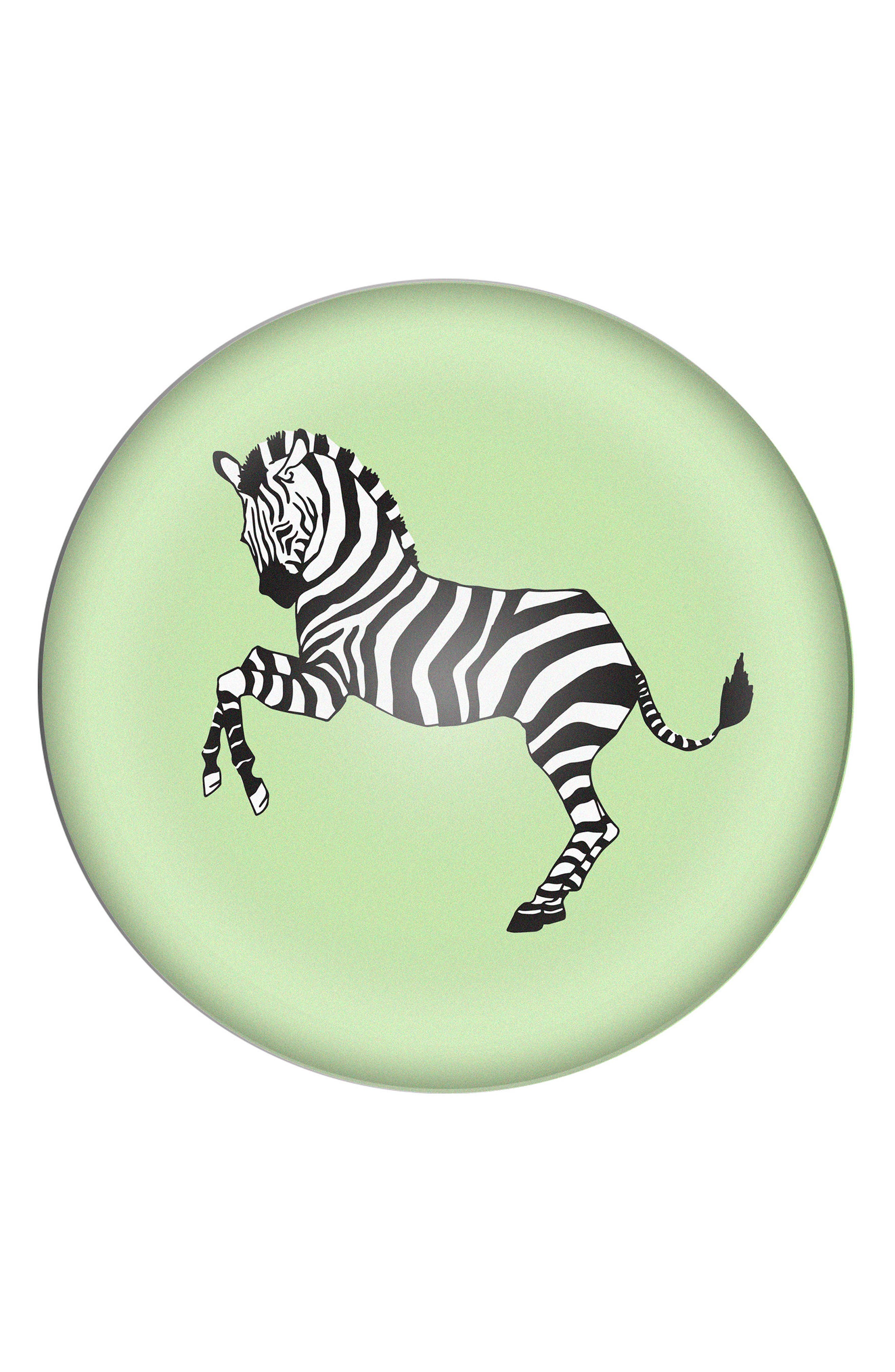 Cathy's Concepts Zebra Domed Glass Paperweight