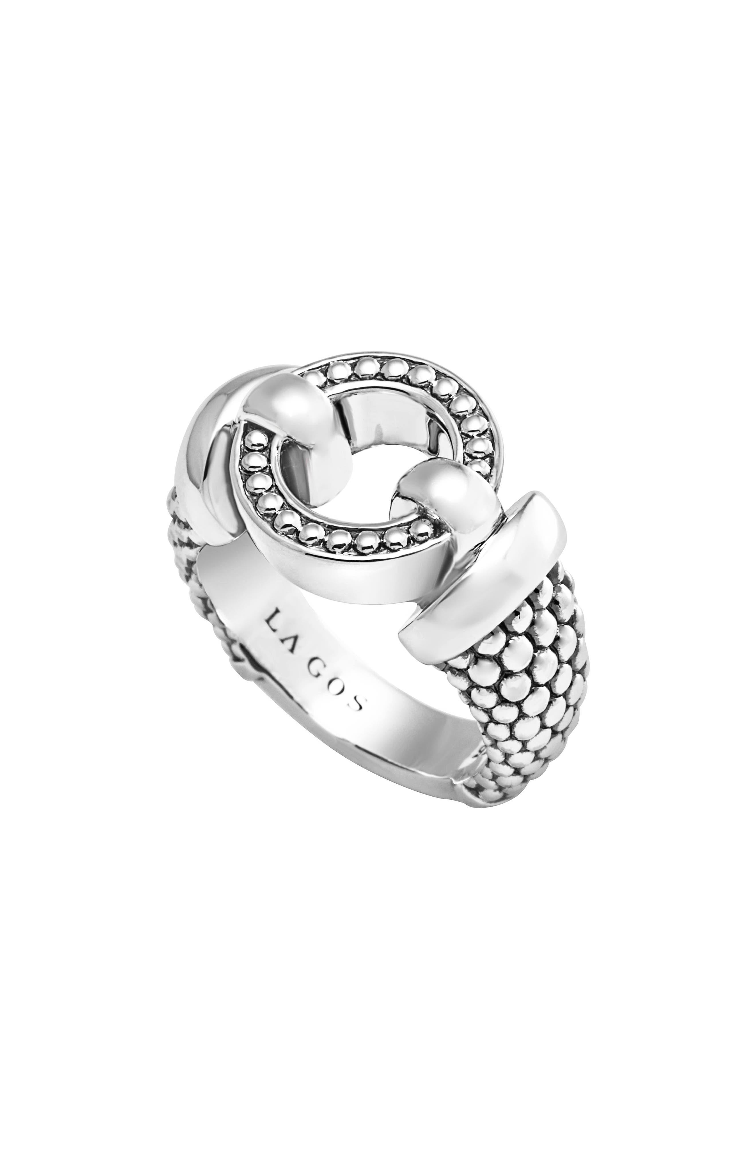 Lagos 'Enso' Caviar™ Ring