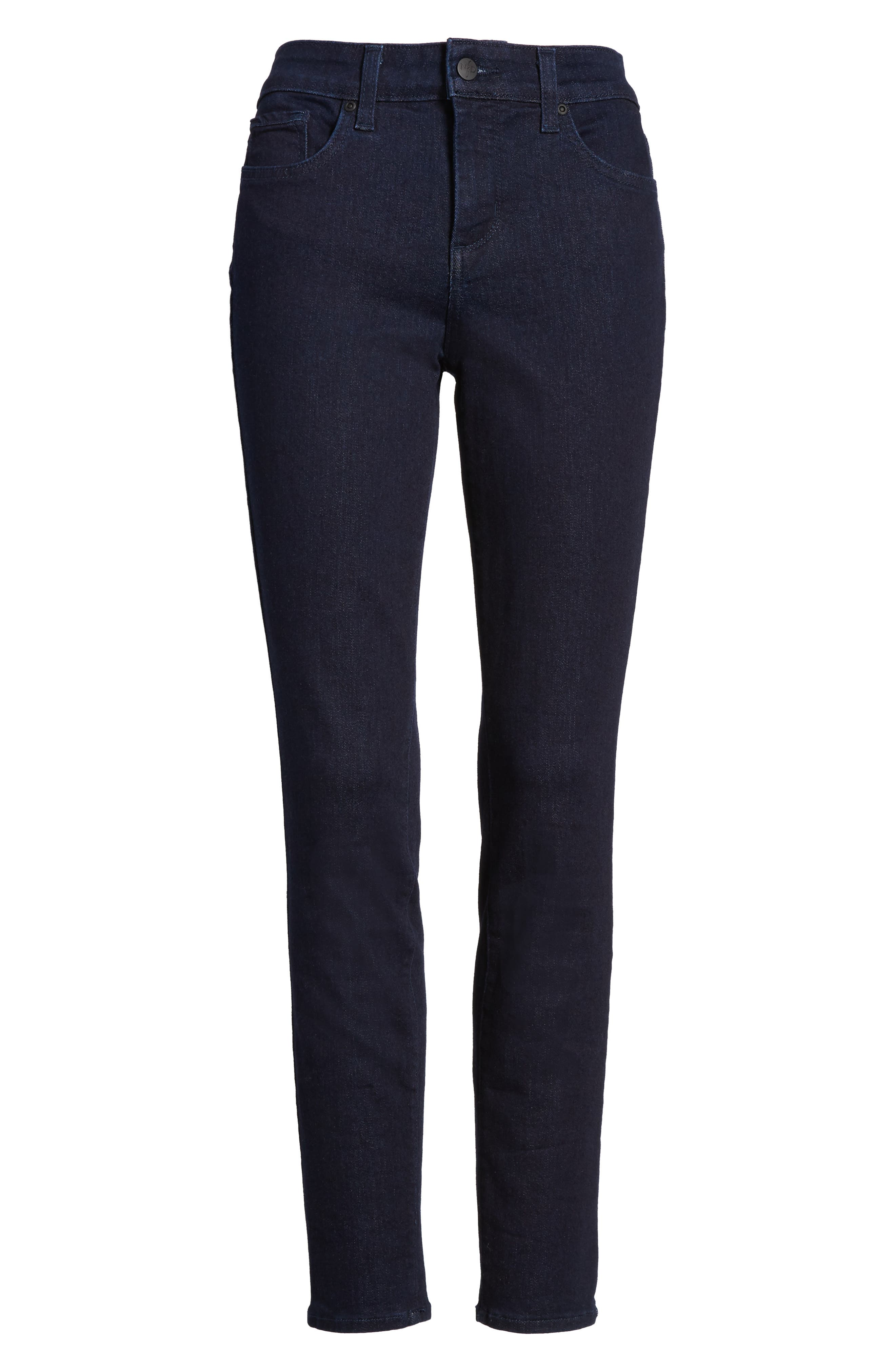 Alternate Image 6  - NYDJ Ami Stretch Skinny Jeans (Rinse) (Regular & Petite)