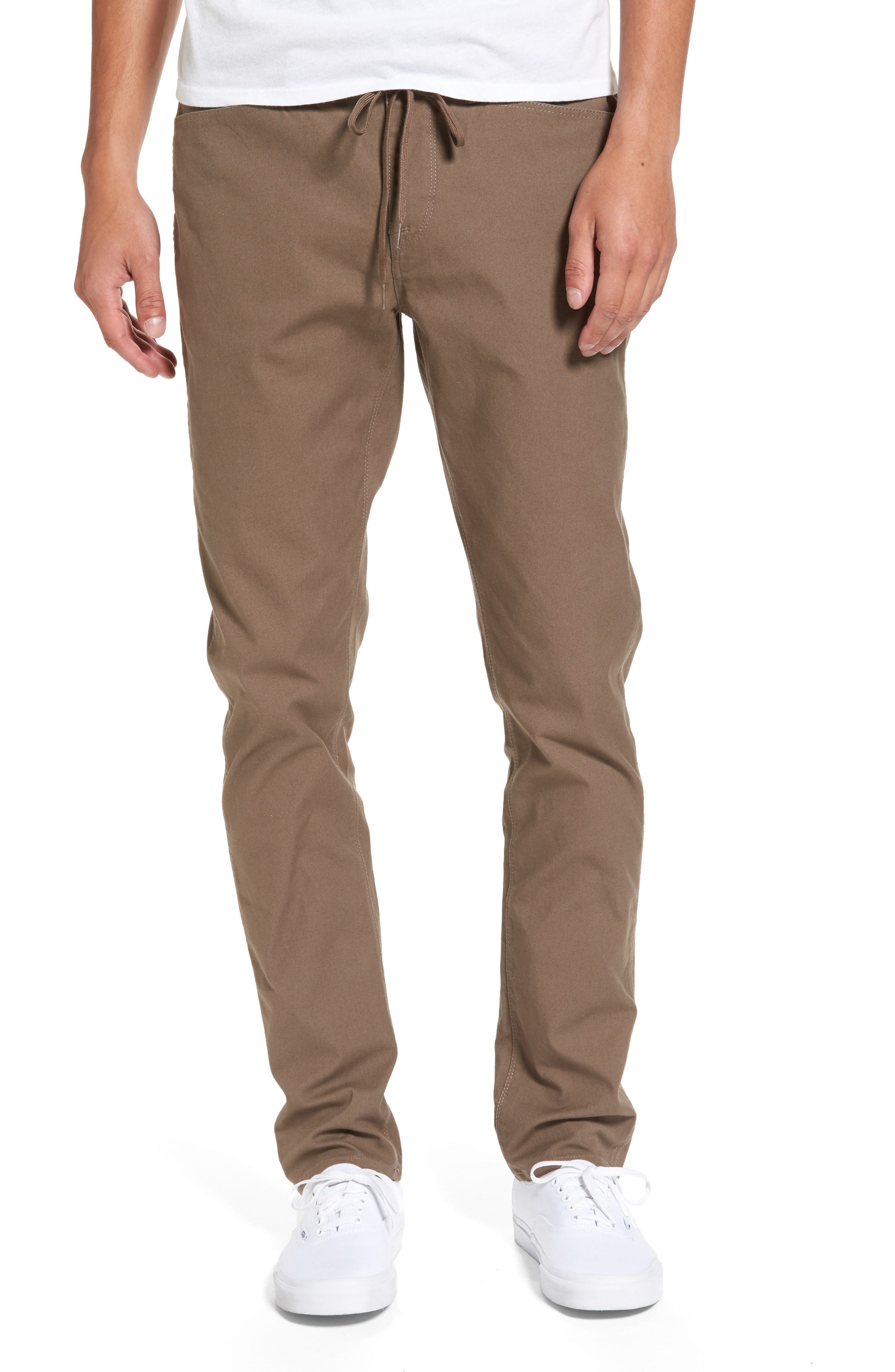 'VSM Gritter' Tapered Chinos,                         Main,                         color, Beige