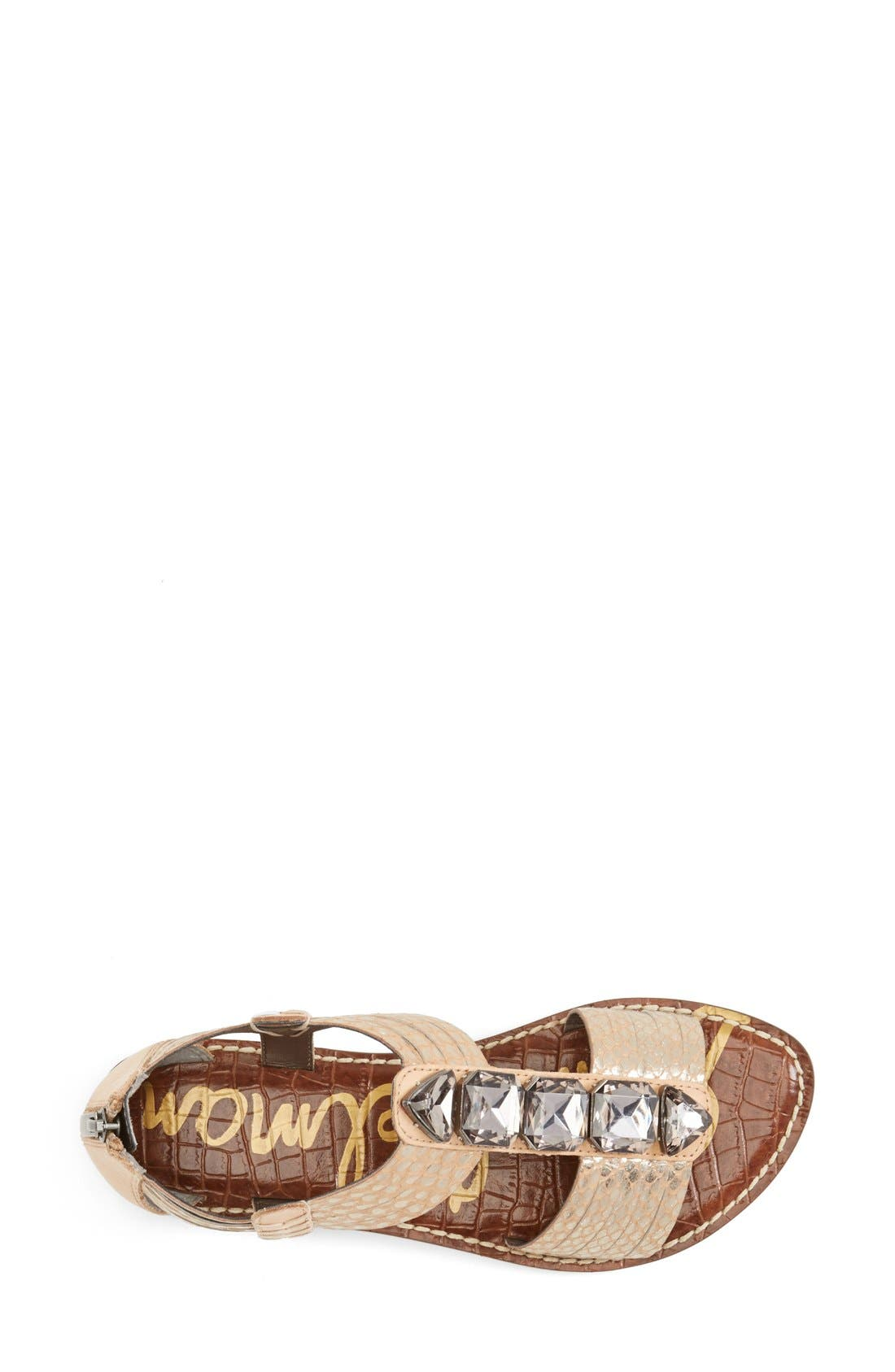 Alternate Image 3  - Sam Edelman 'Galina' Crystal Embellished Sandal (Women)