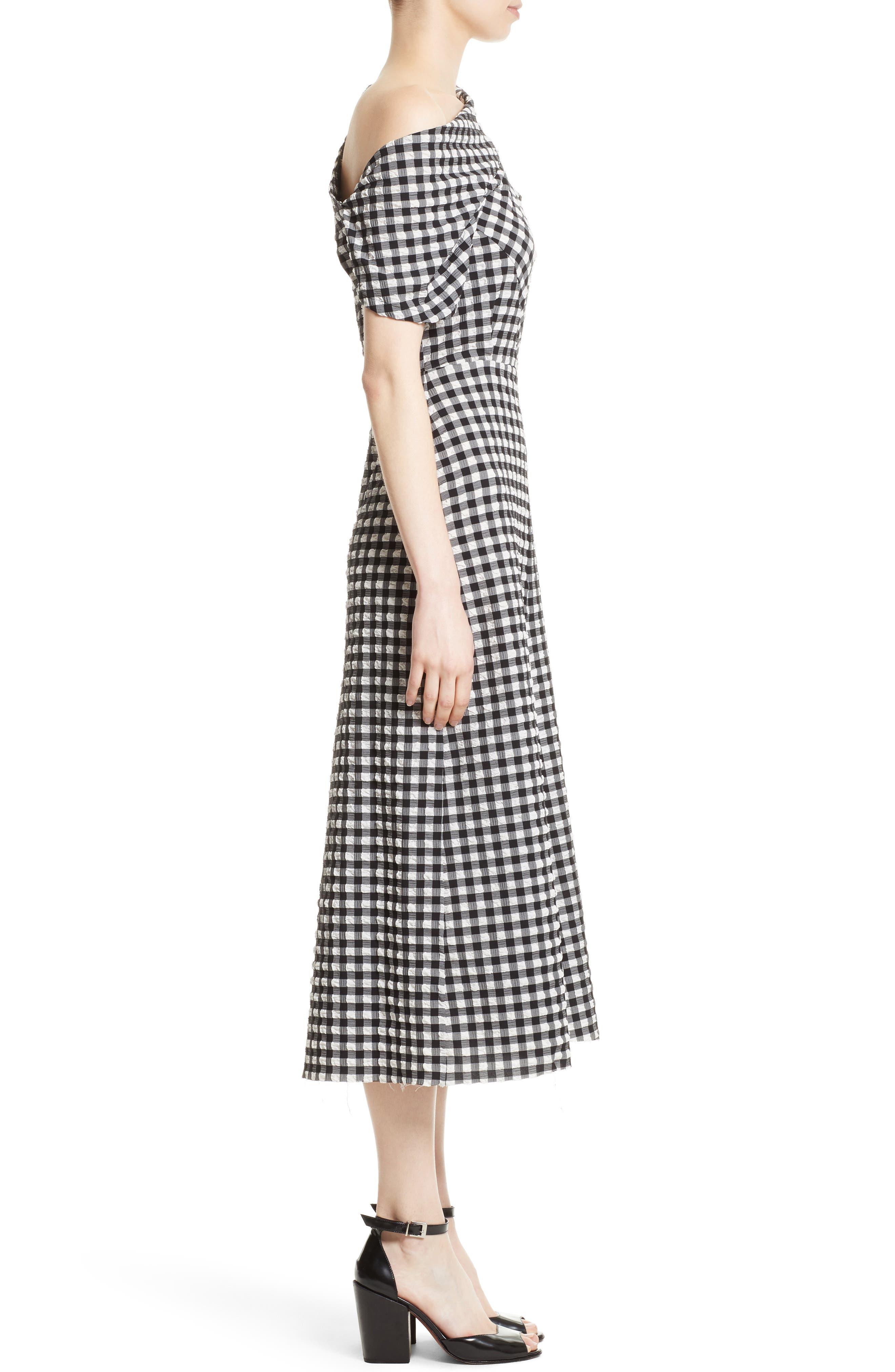 Alternate Image 3  - Rachel Comey Pout One-Shoulder Midi Dress