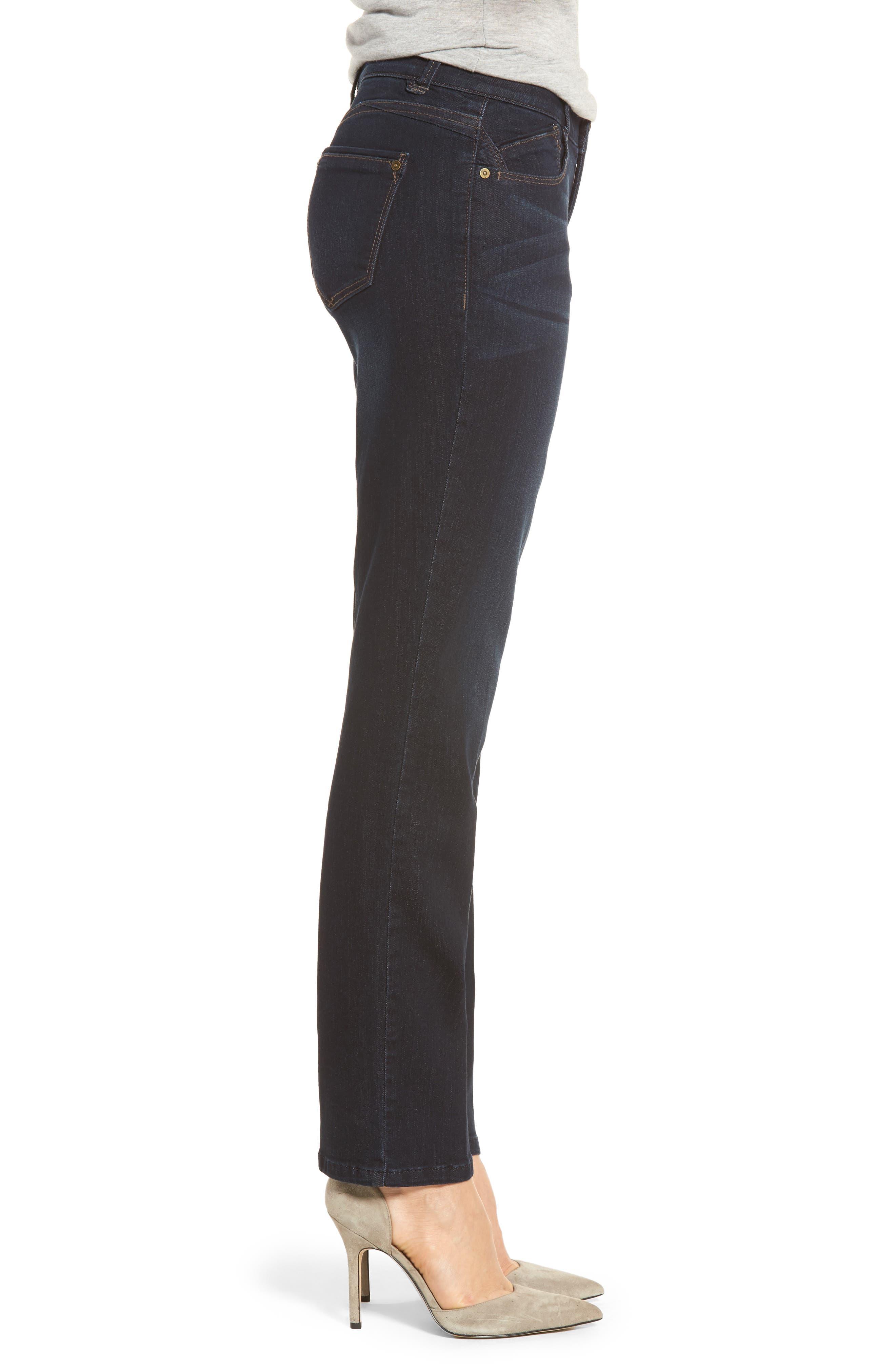 Alternate Image 3  - Wit & Wisdom Ab-solution Straight Leg Jeans (Regular & Petite) (Nordstrom Exclusive)