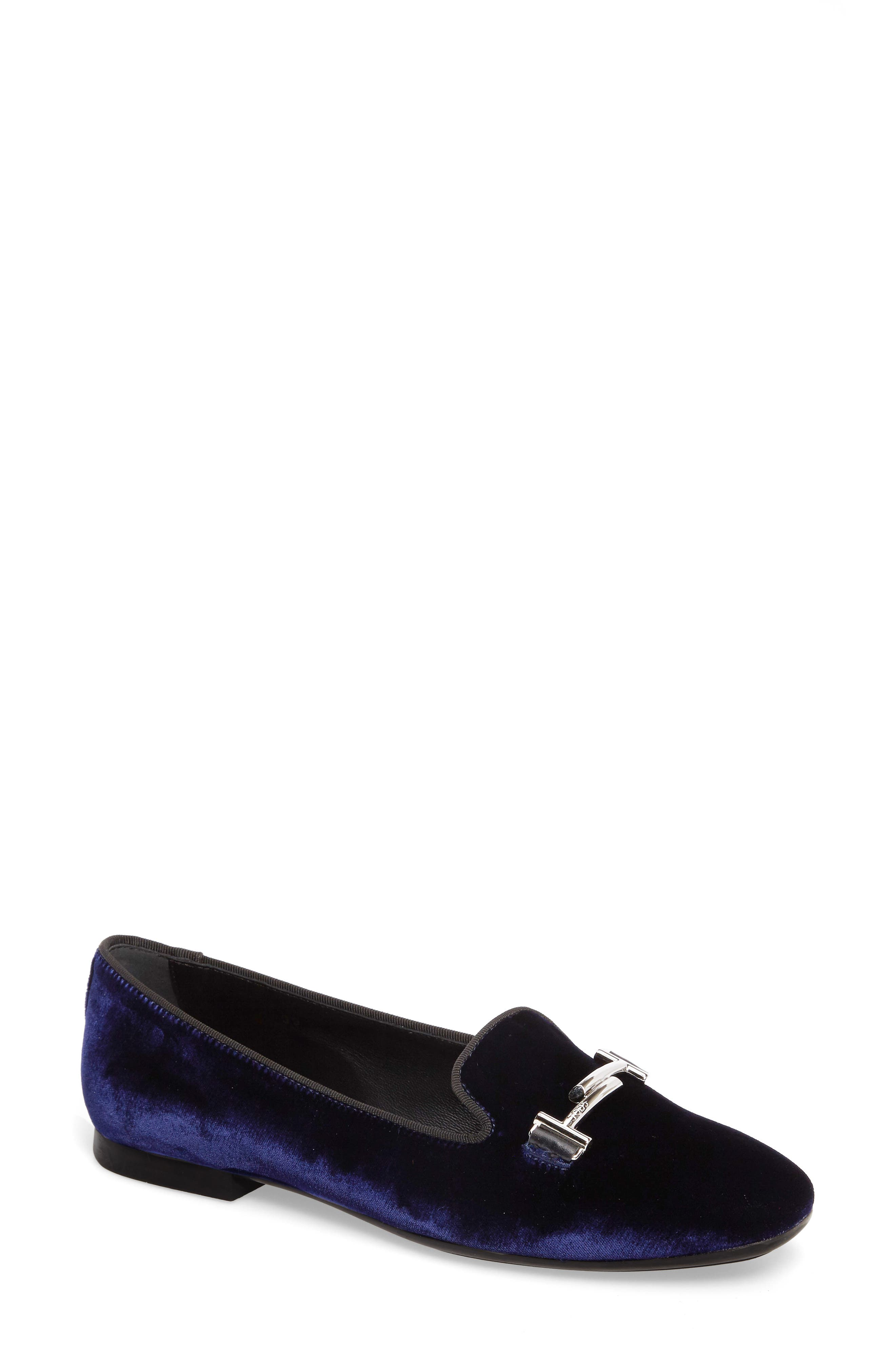 Tods Double T Loafer (Women)