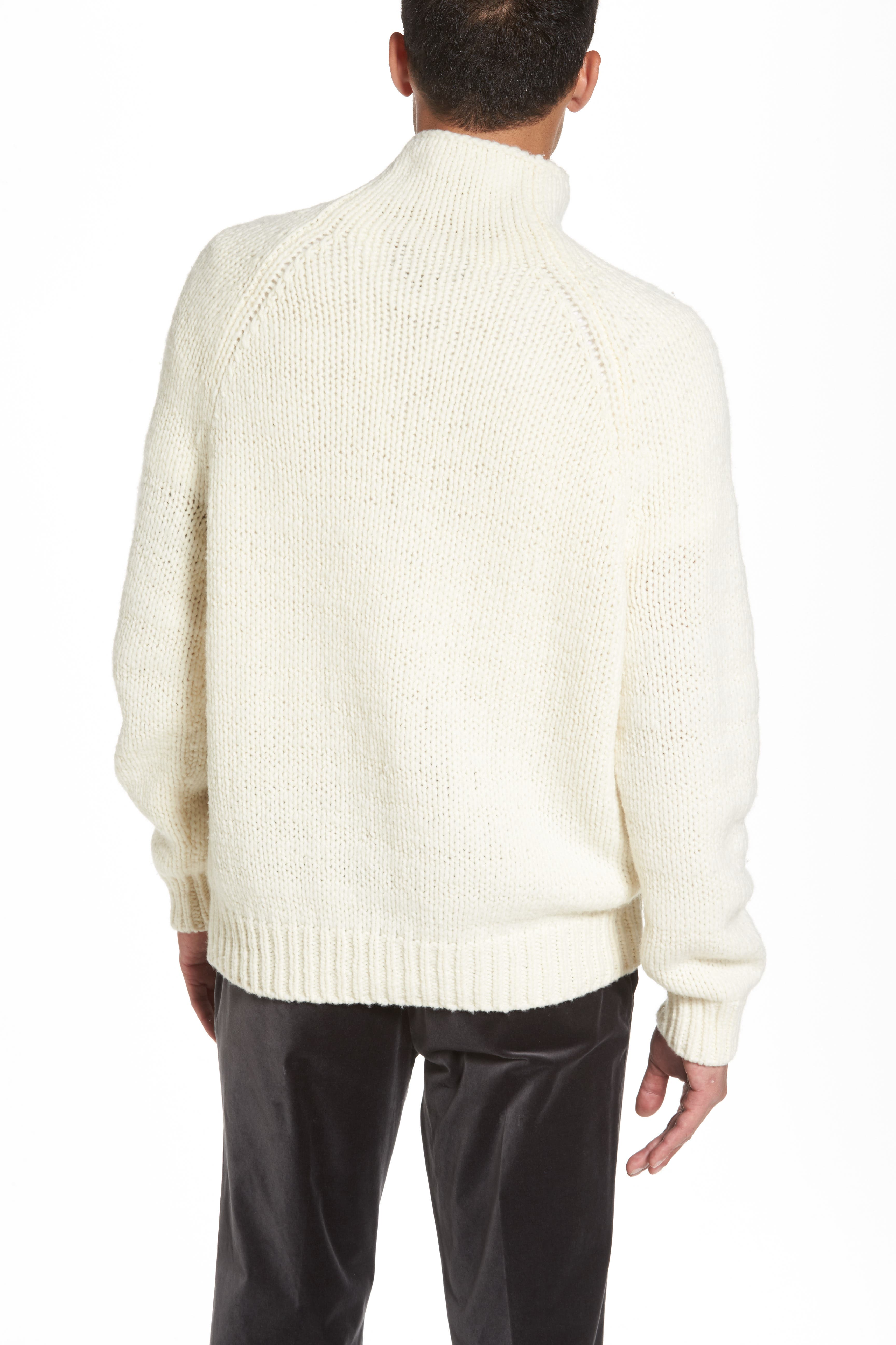 Alternate Image 2  - Vince Side Button Mock Neck Sweater