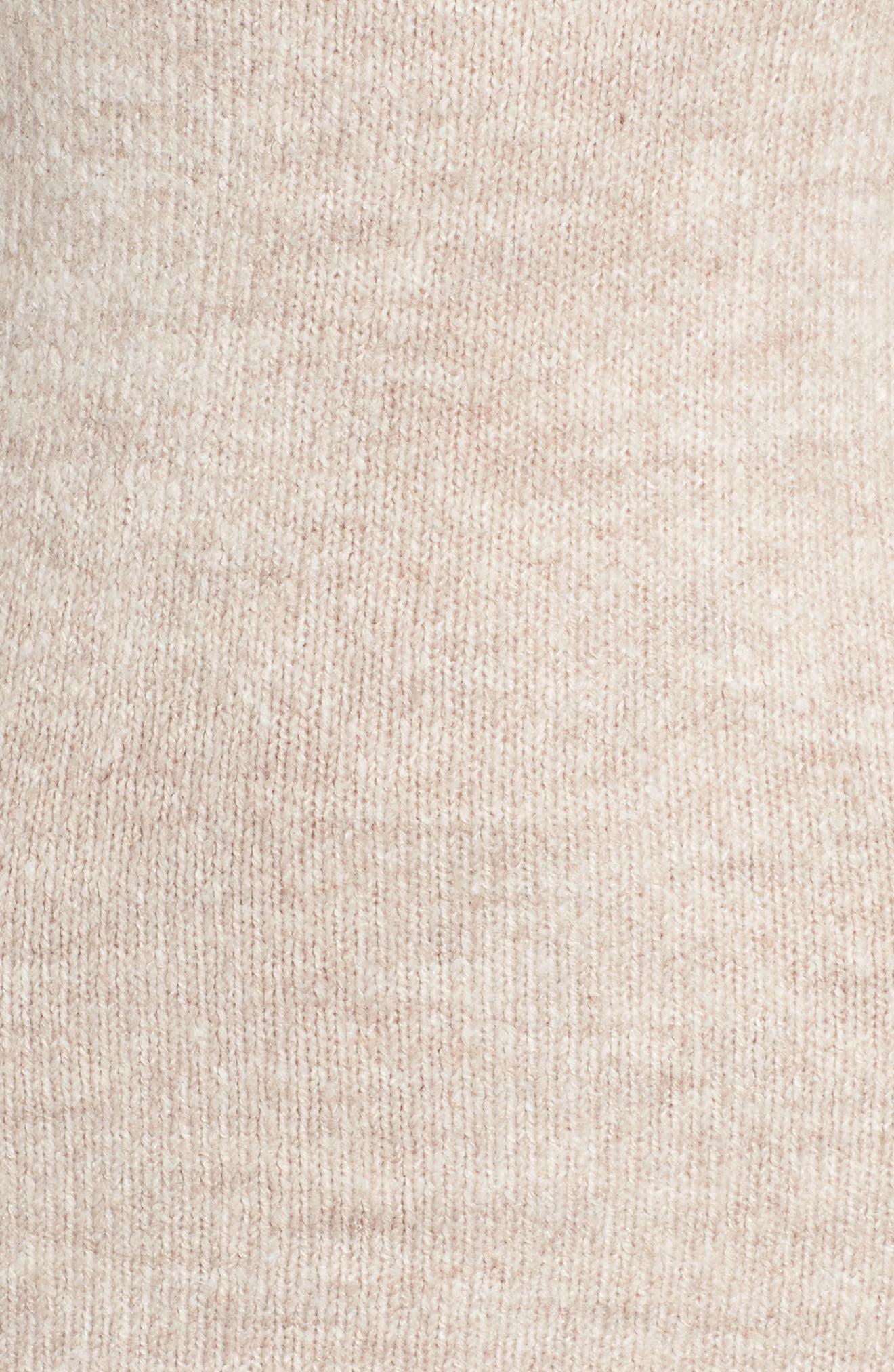 Alternate Image 5  - Bardot Bell Sleeve Knit Dress