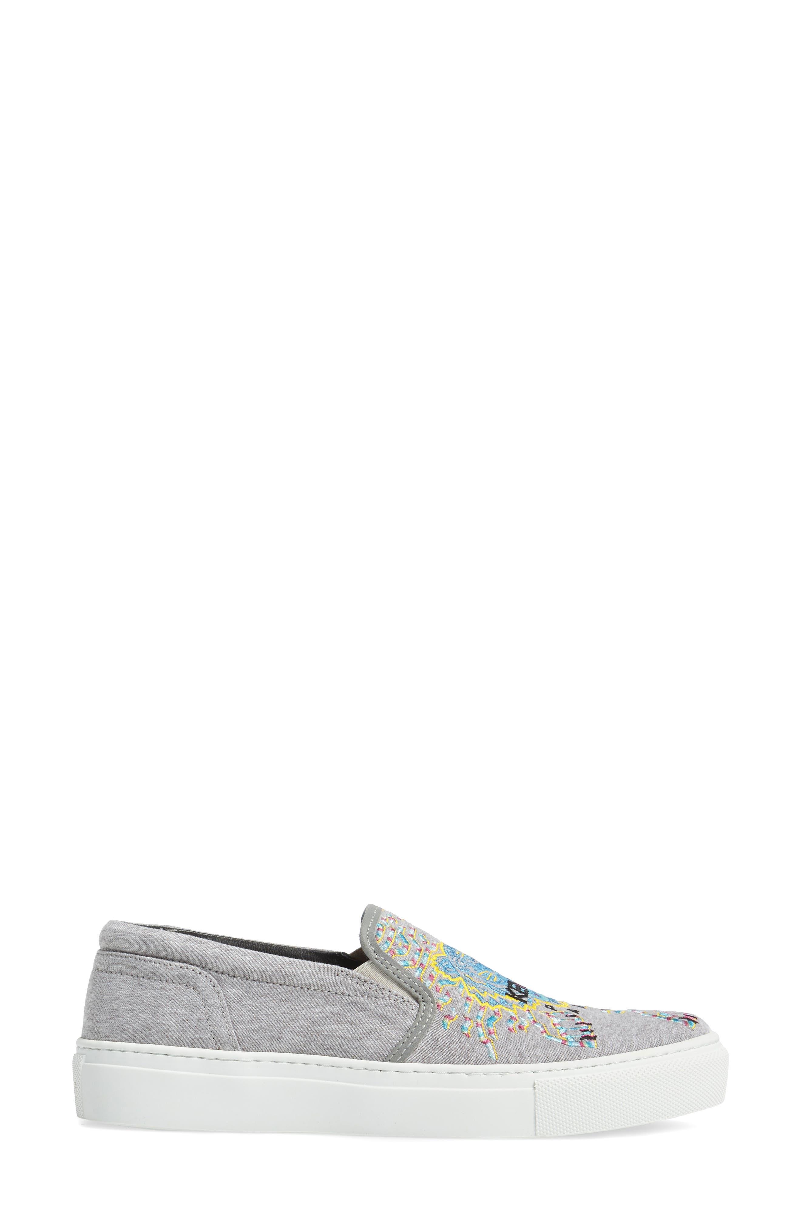 Alternate Image 3  - KENZO K Skate Embroidered Slip-On Sneaker (Women)