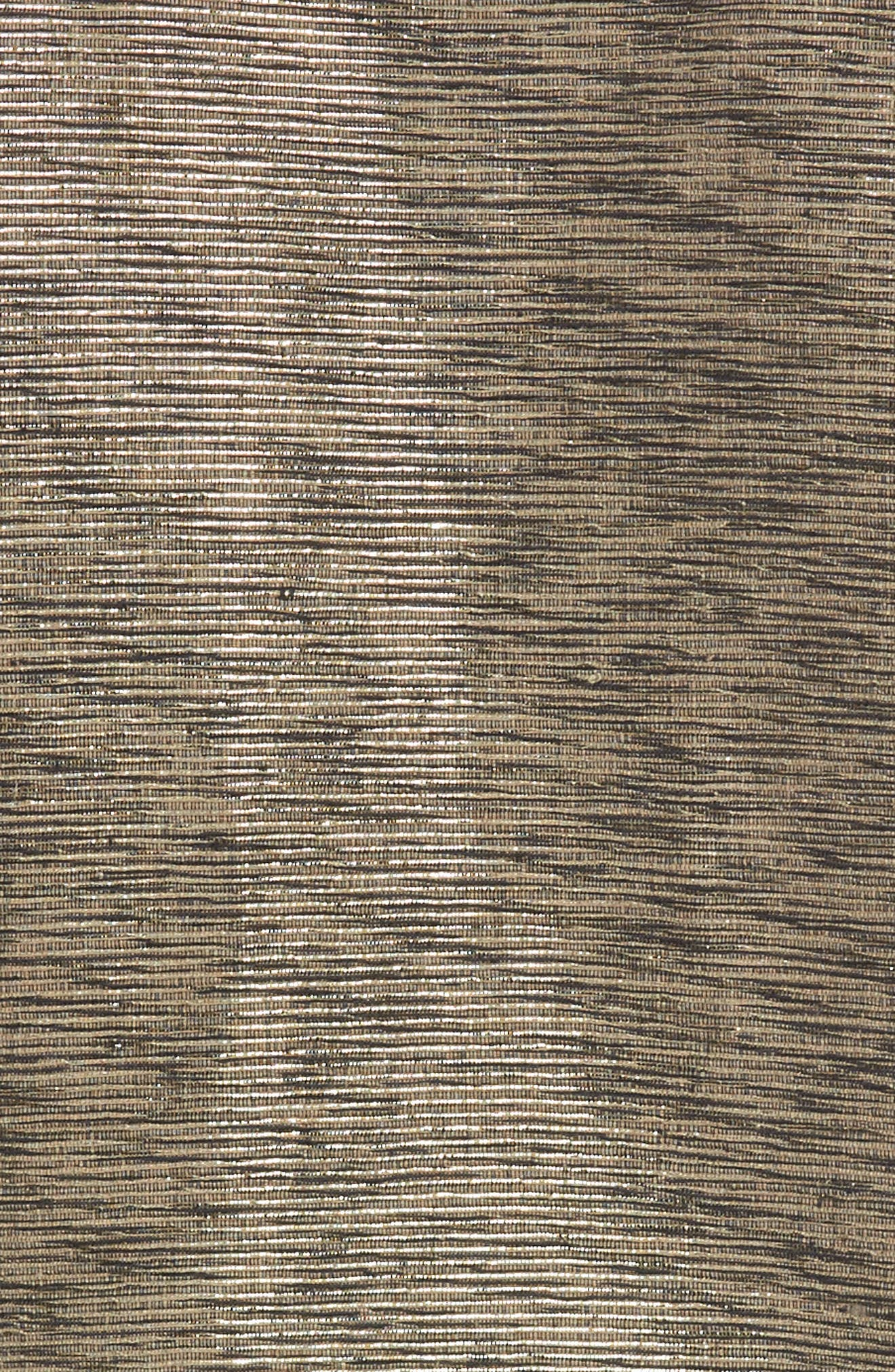 Metallic Tweed Jacket,                             Alternate thumbnail 5, color,                             Ash/ Black/ Cat Eye