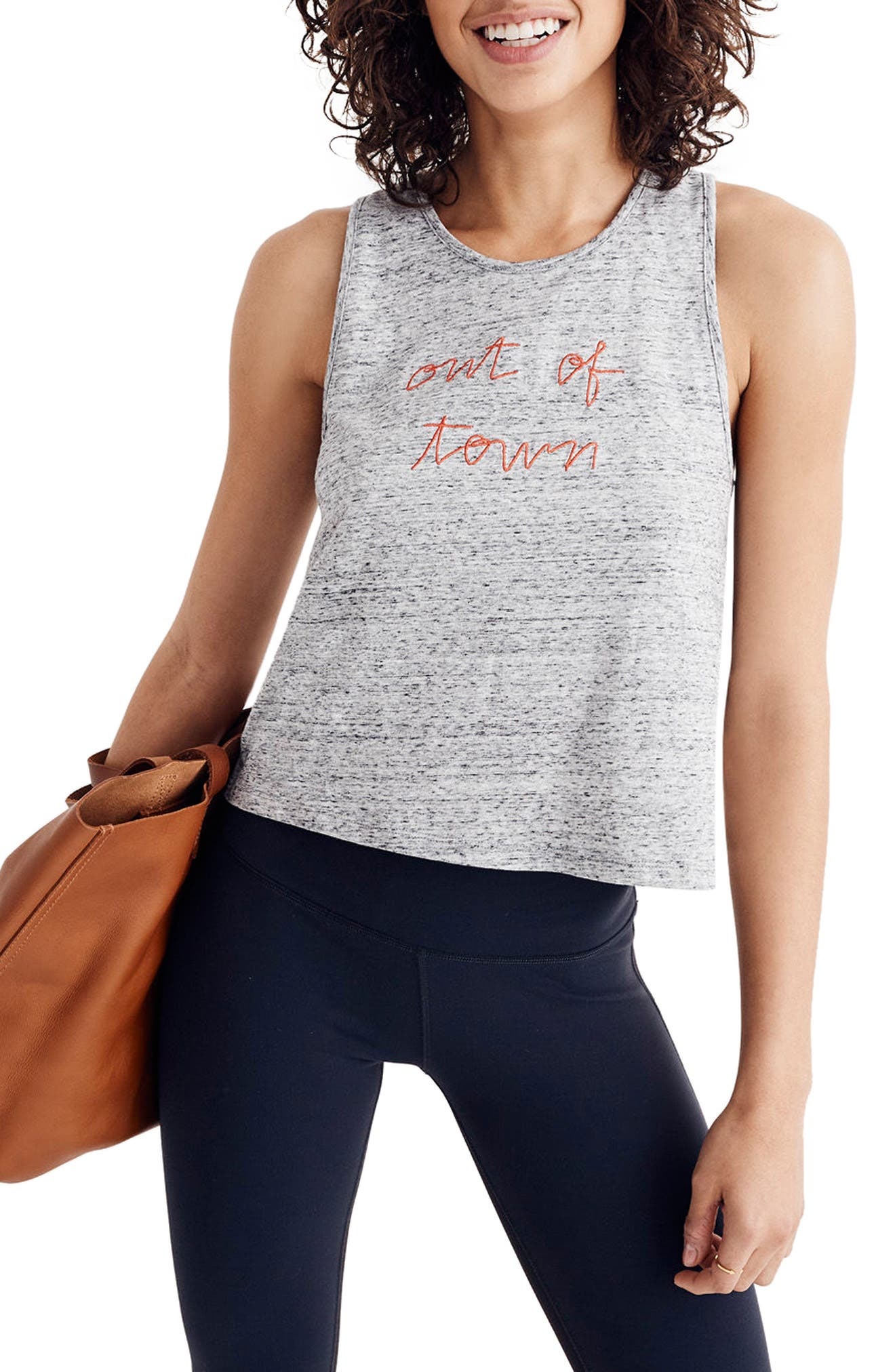 Madewell Out Of Town Crop Tank