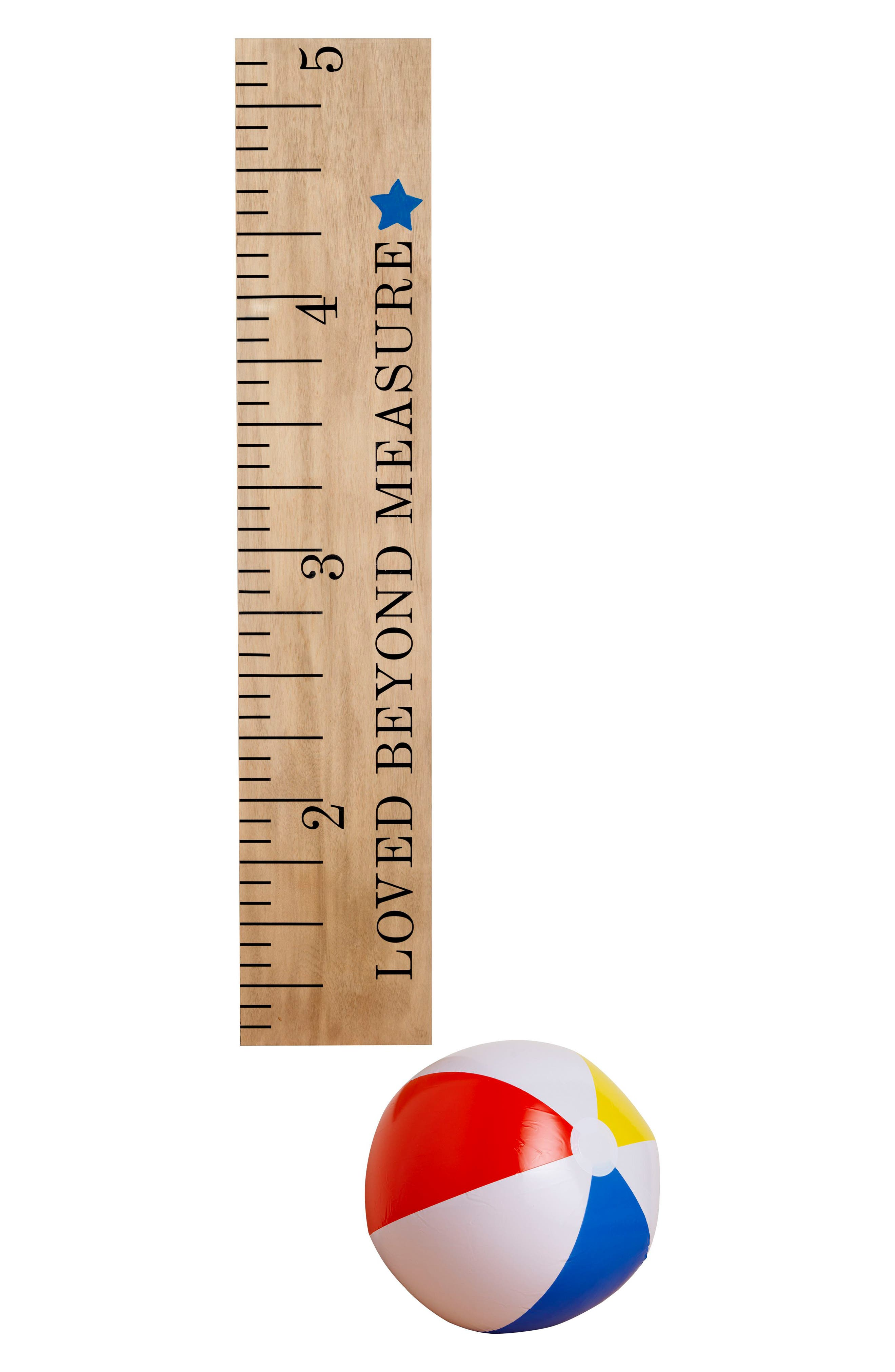 Someday Inc. Wooden Ruler Growth Chart