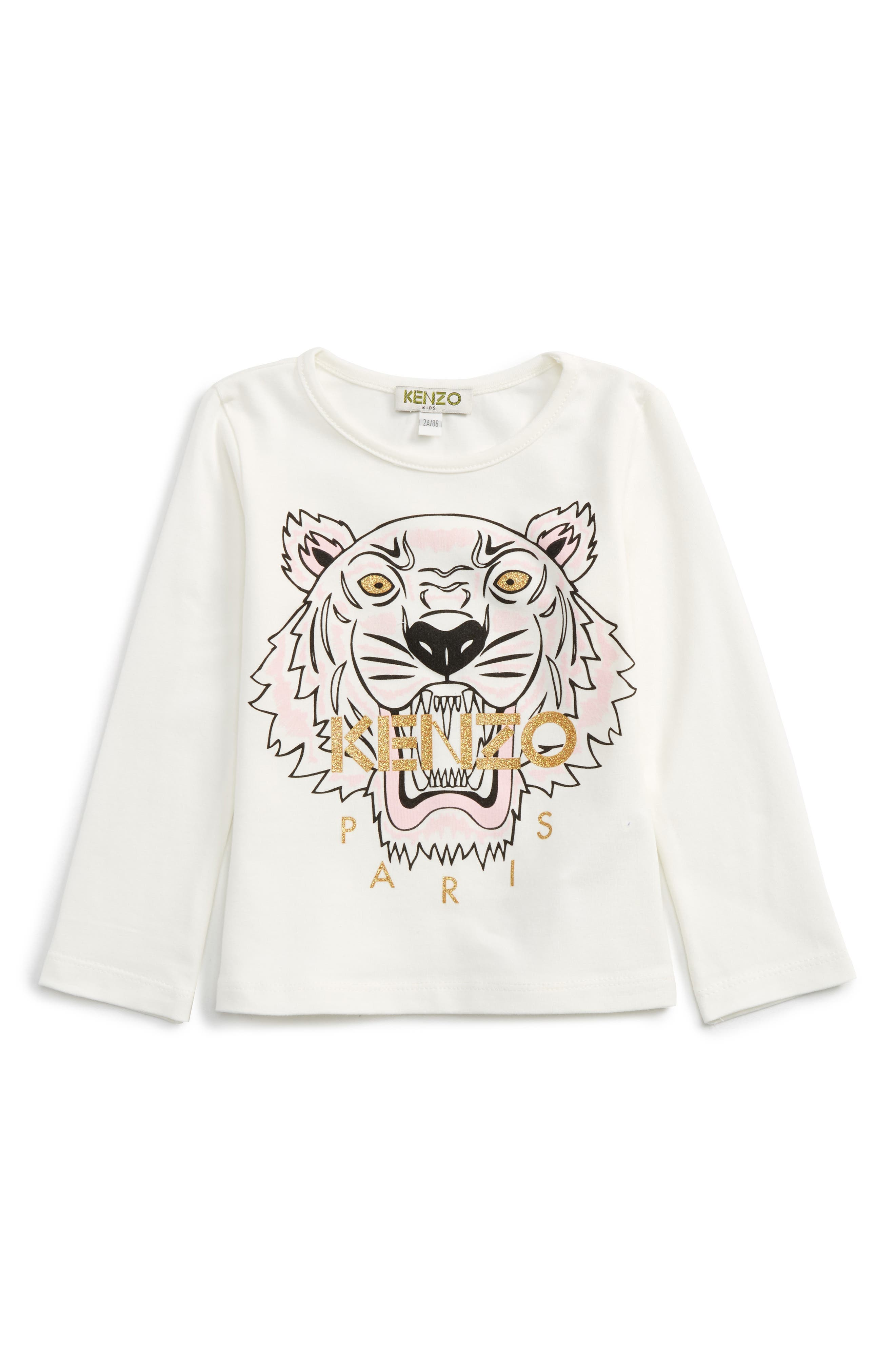 KENZO Tiger Tee (Toddler Girls, Little Girls & Big Girls)