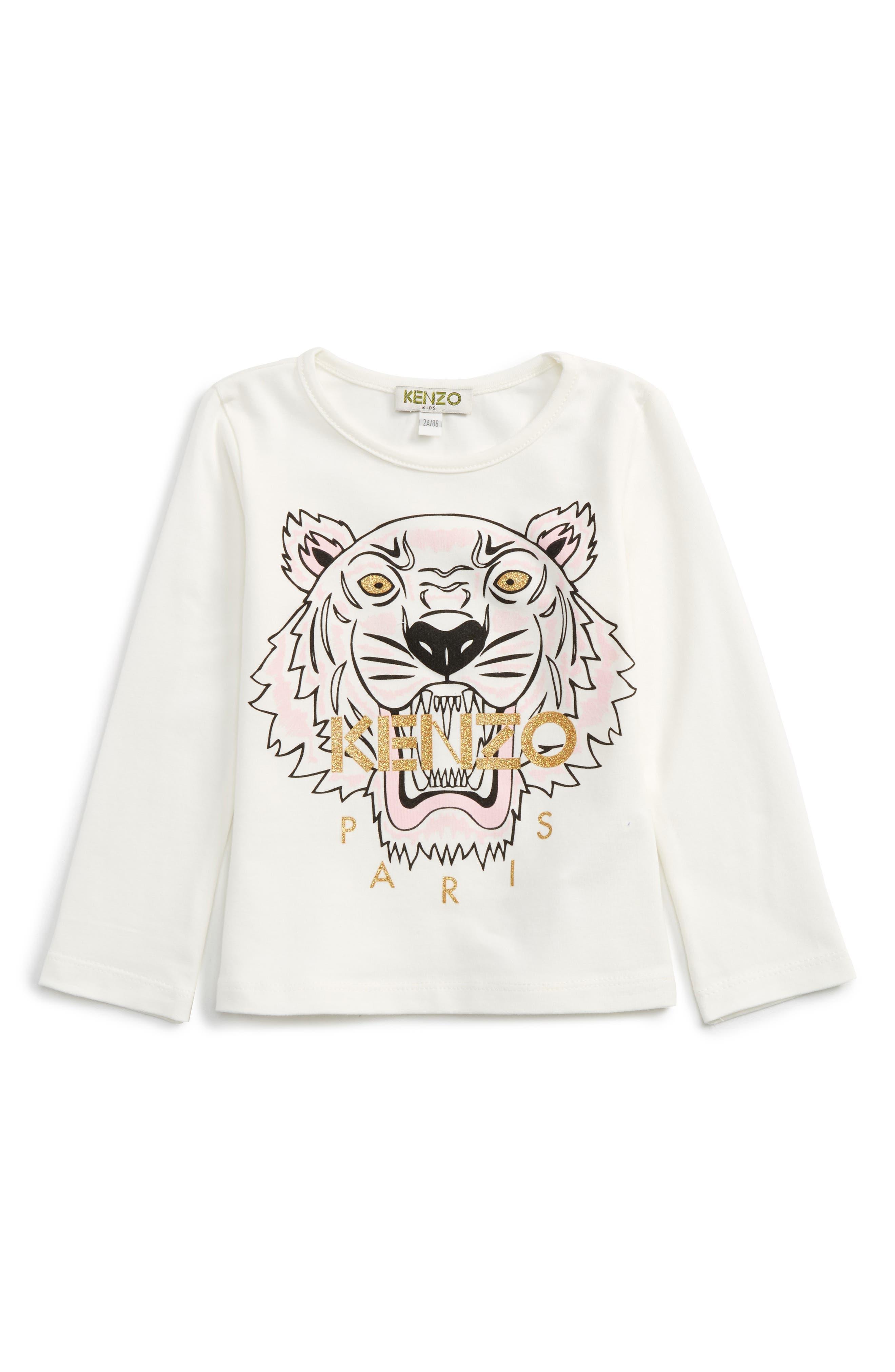 KENZO Tiger Tee (Toddler Girls, Little Girls & Big Girls)