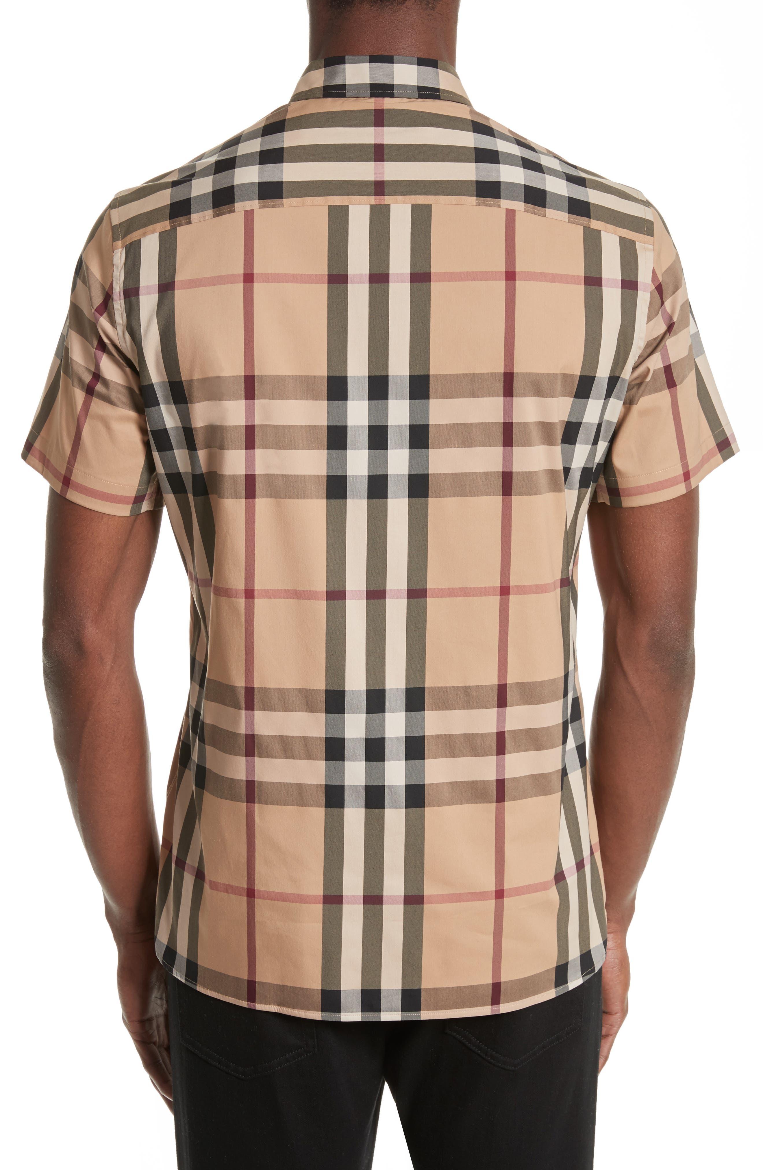 Alternate Image 2  - Burberry Brit 'Nelson' Trim Fit Short Sleeve Sport Shirt