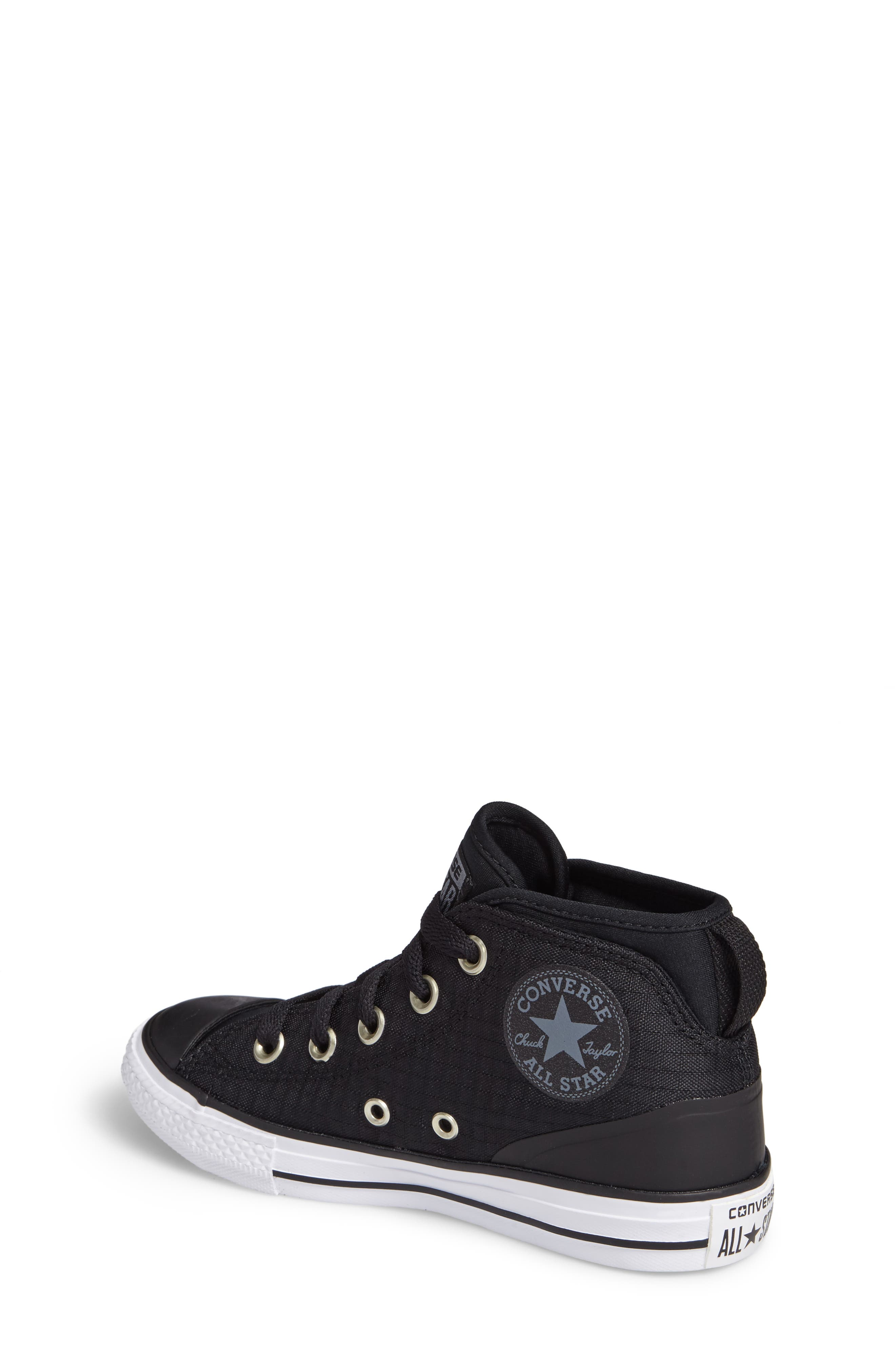 Alternate Image 2  - Converse Chuck Taylor® All Star® Syde Street High Top Sneaker (Toddler, Little Kid & Big Kid)
