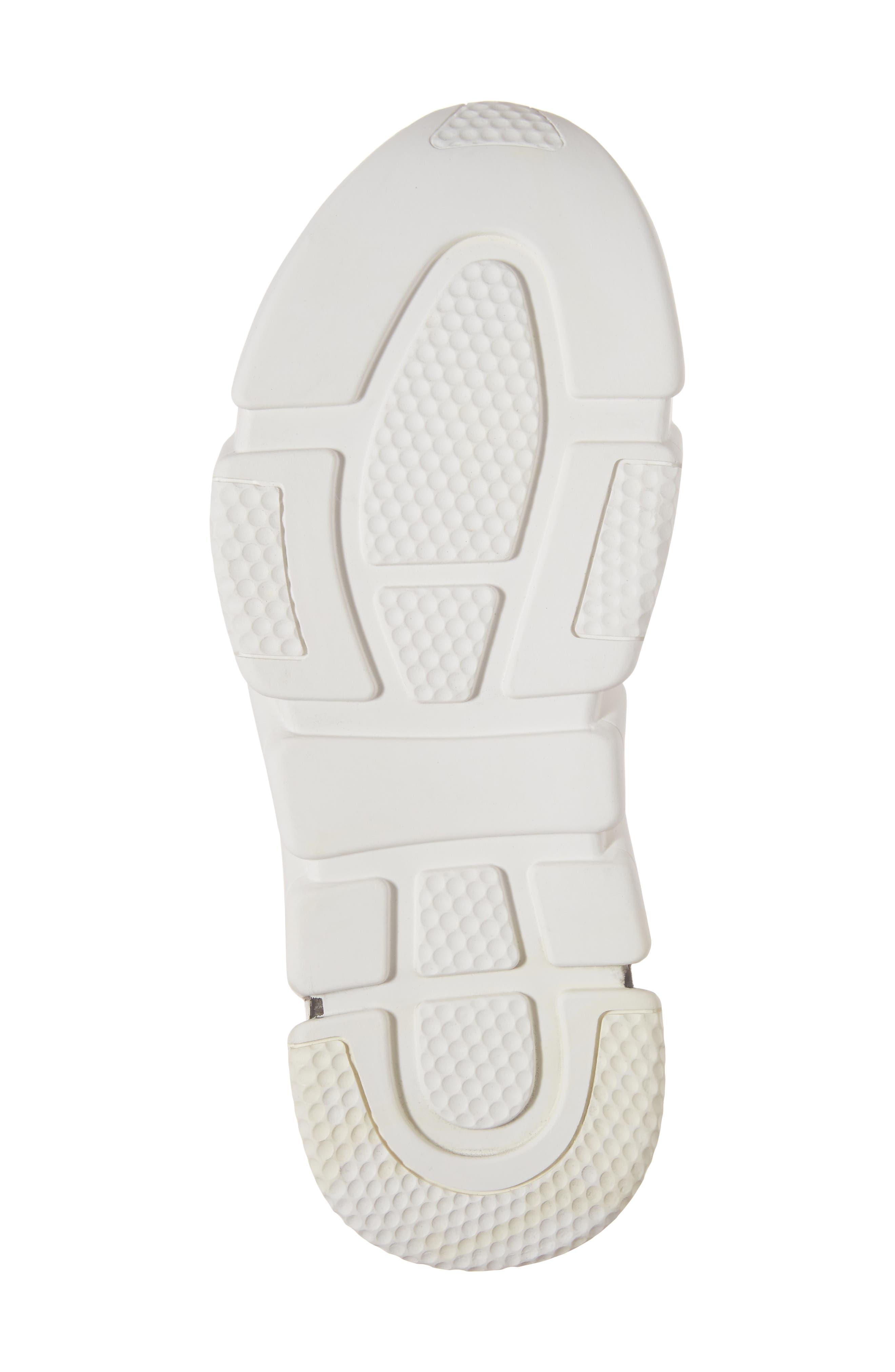 Slip-On Sneaker,                             Alternate thumbnail 6, color,                             White Black White